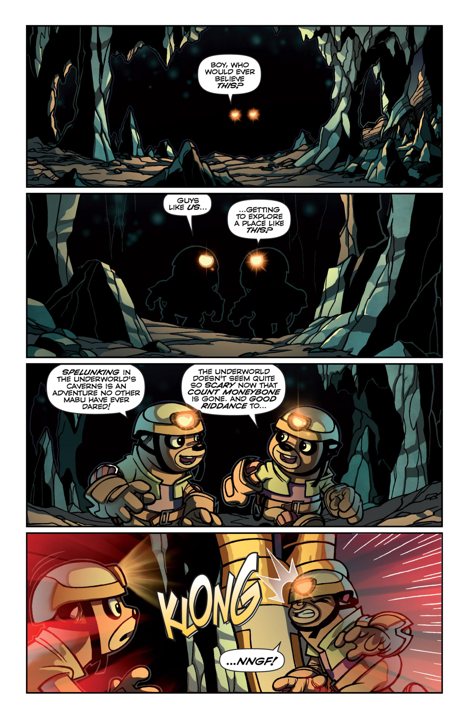 Read online Skylanders Superchargers comic -  Issue #4 - 4