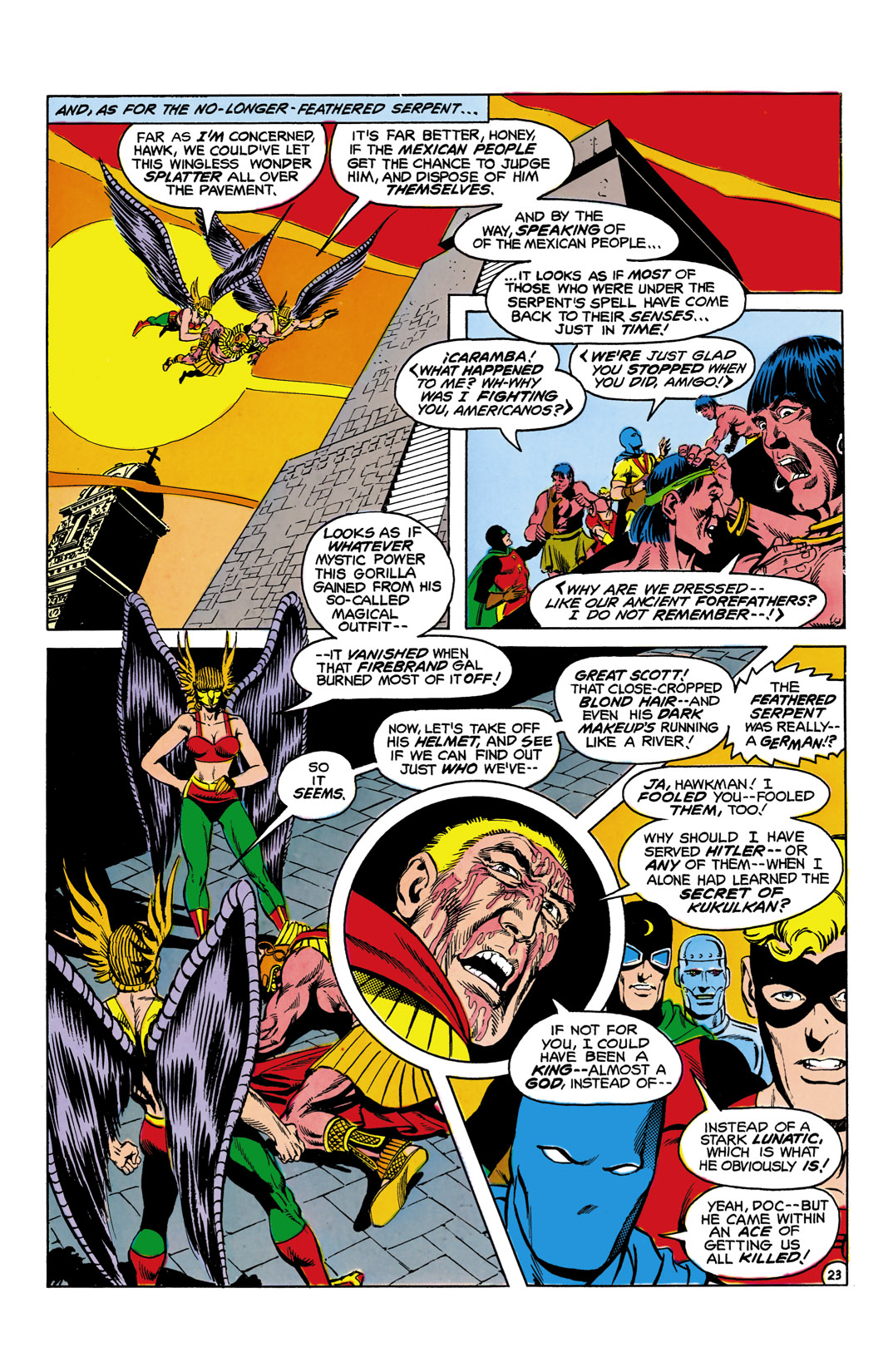 Read online All-Star Squadron comic -  Issue #6 - 24