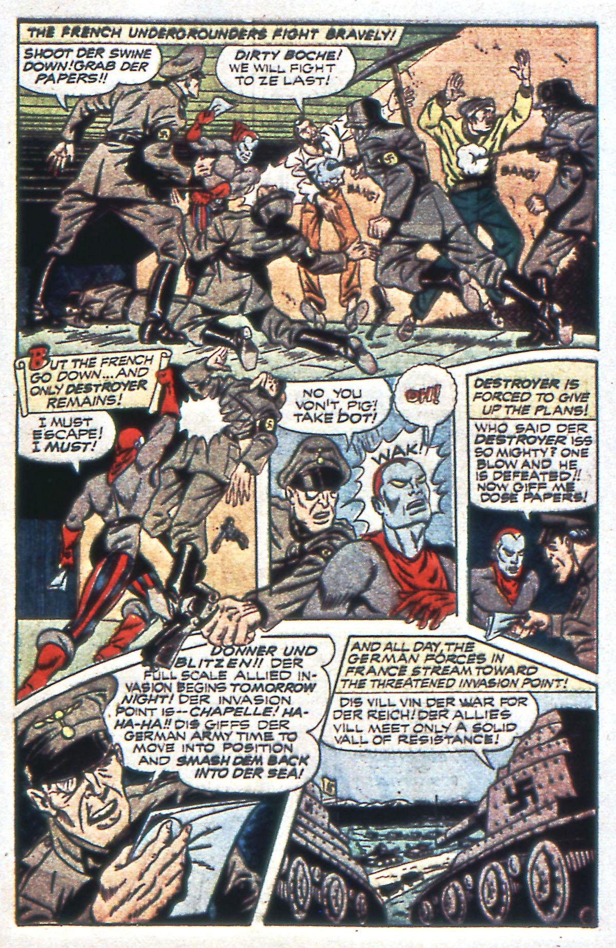 Read online All-Winners Comics comic -  Issue #12 - 47
