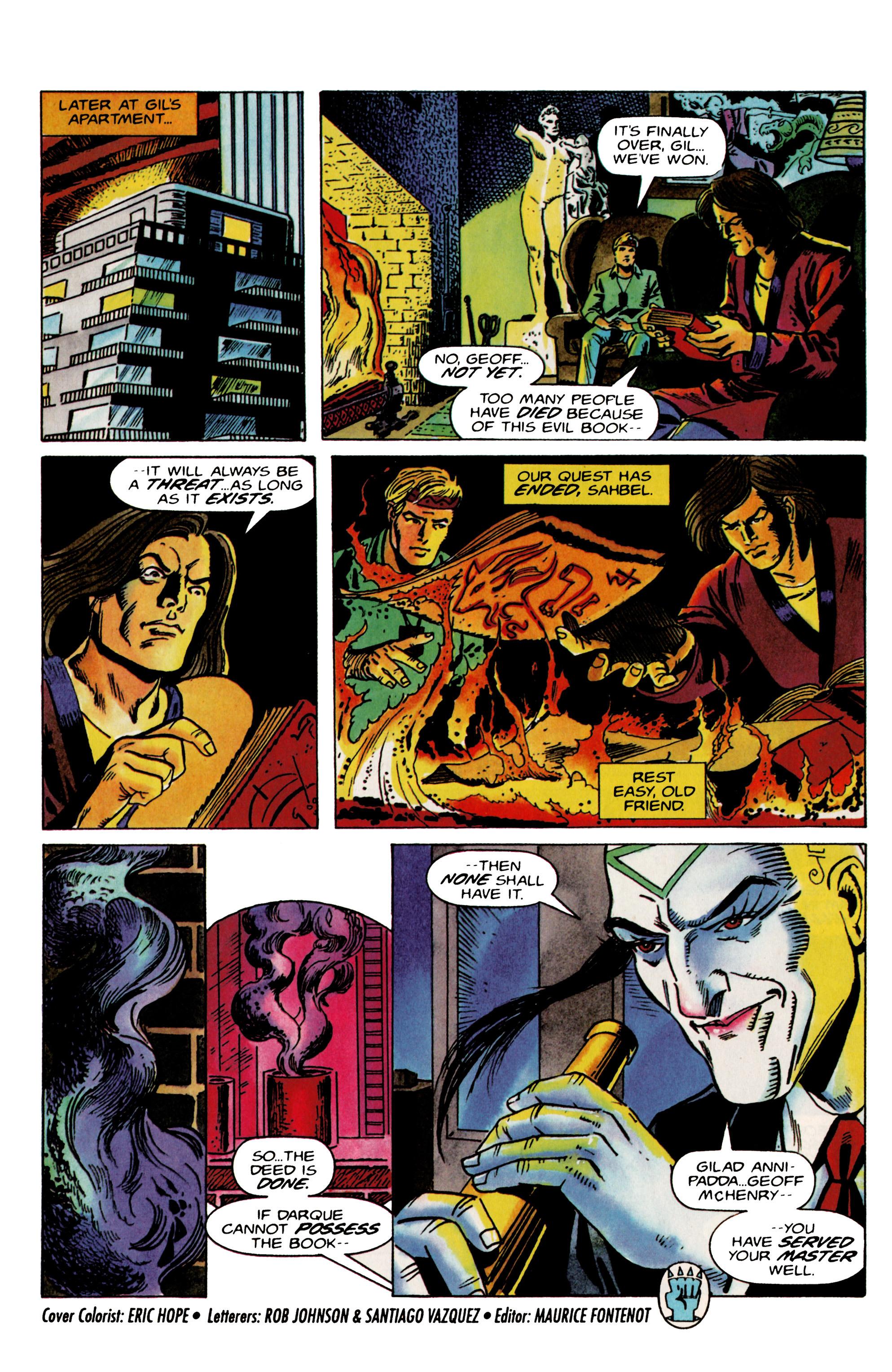 Read online Eternal Warrior (1992) comic -  Issue #22 - 22
