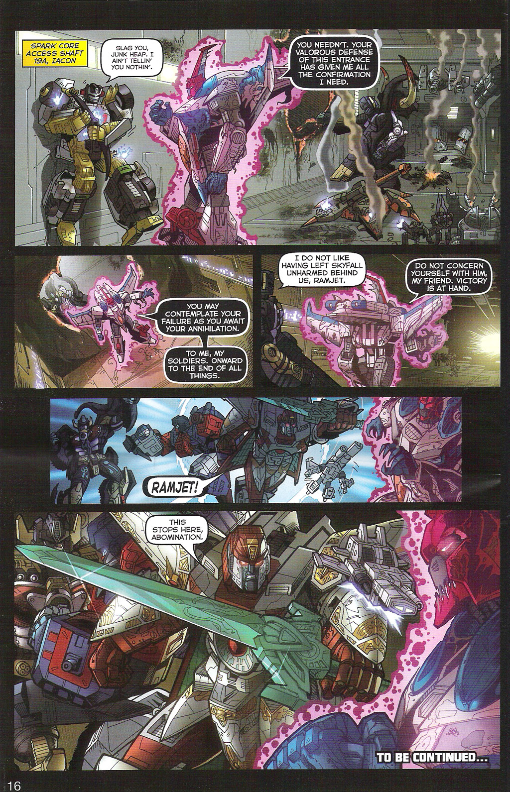 Read online Transformers: Collectors' Club comic -  Issue #5 - 16