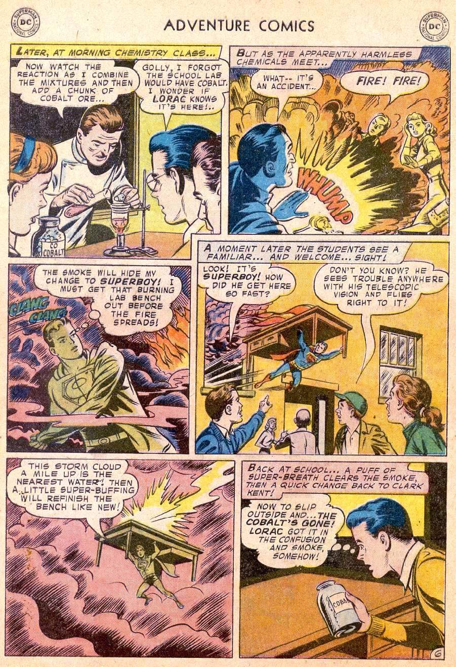 Read online Adventure Comics (1938) comic -  Issue #250 - 8