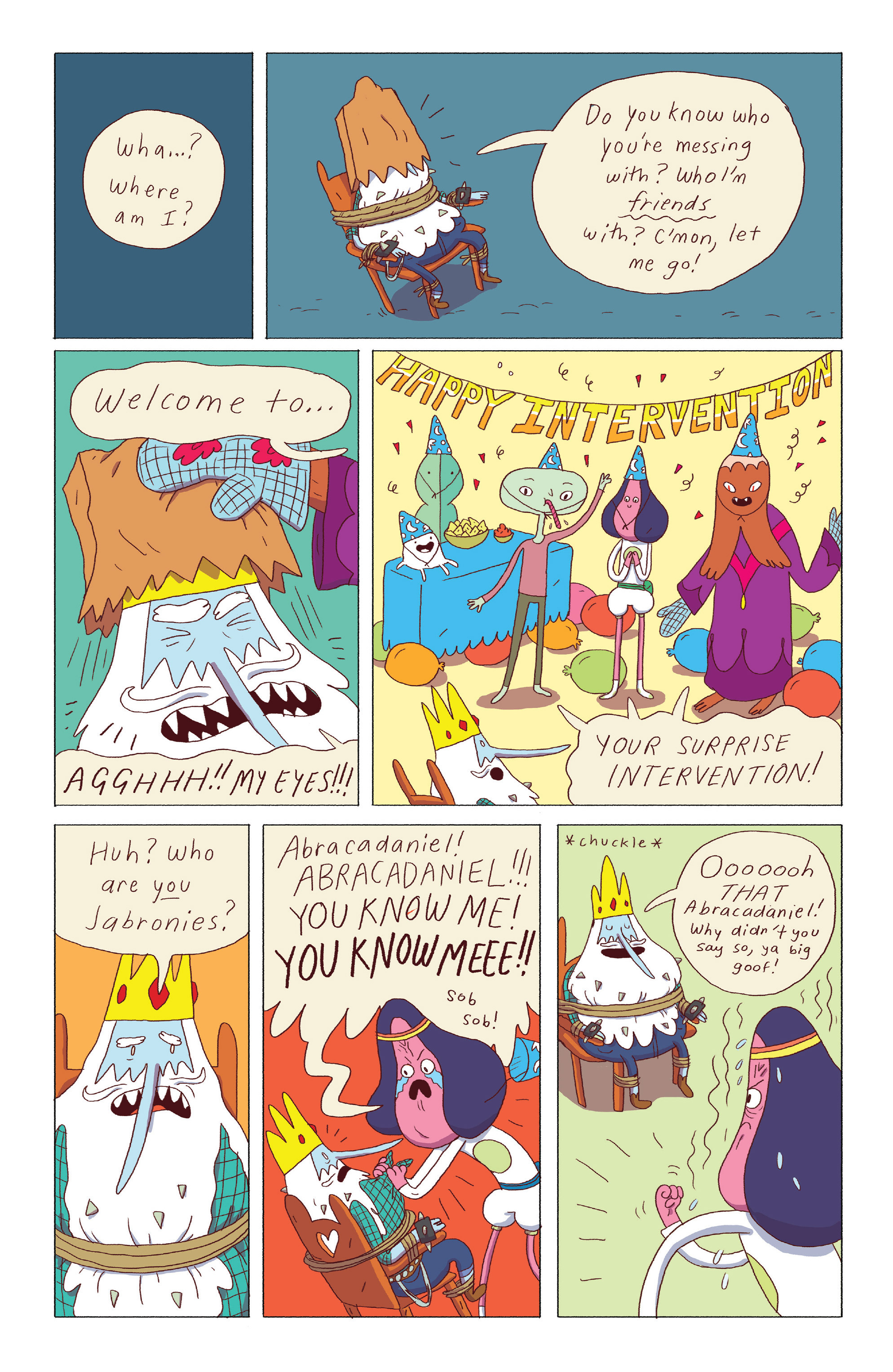 Read online Adventure Time: Ice King comic -  Issue #3 - 21