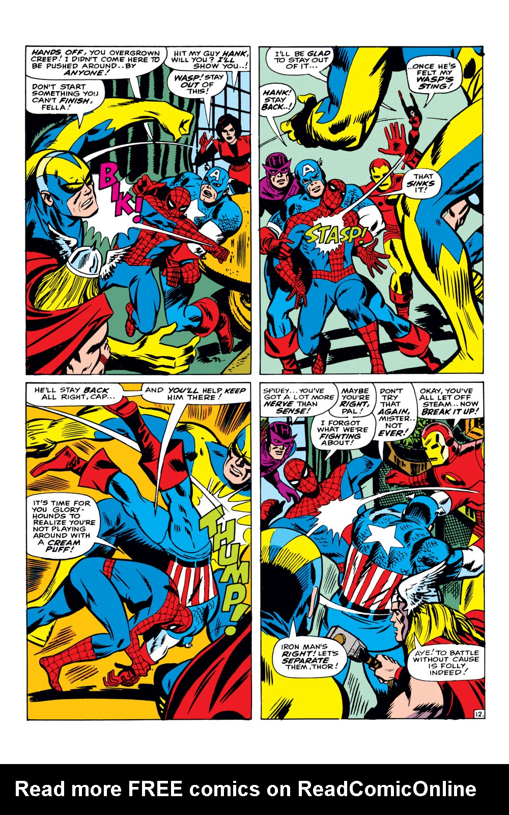 The Amazing Spider-Man (1963) _Annual_3 Page 12