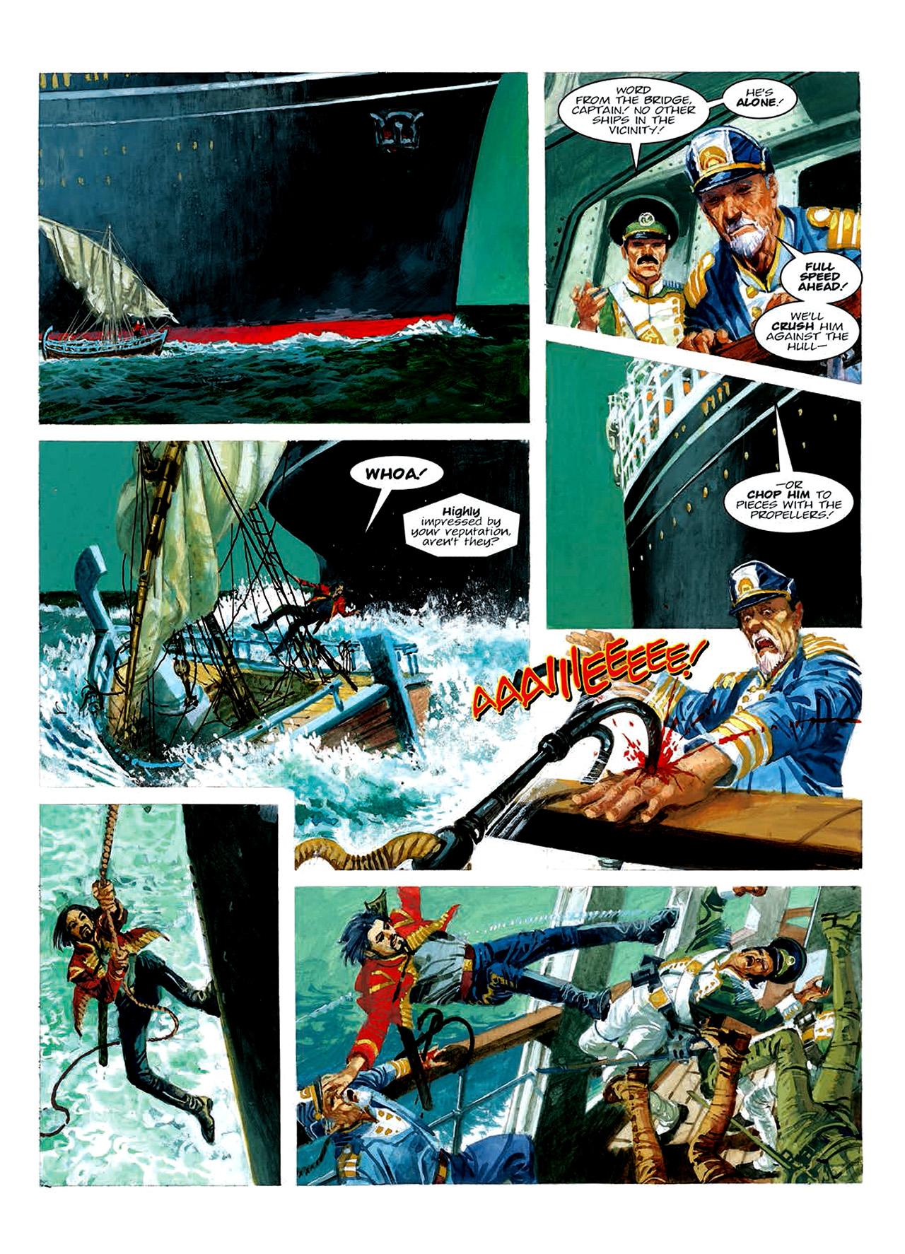 Read online Nikolai Dante comic -  Issue # TPB 6 - 137
