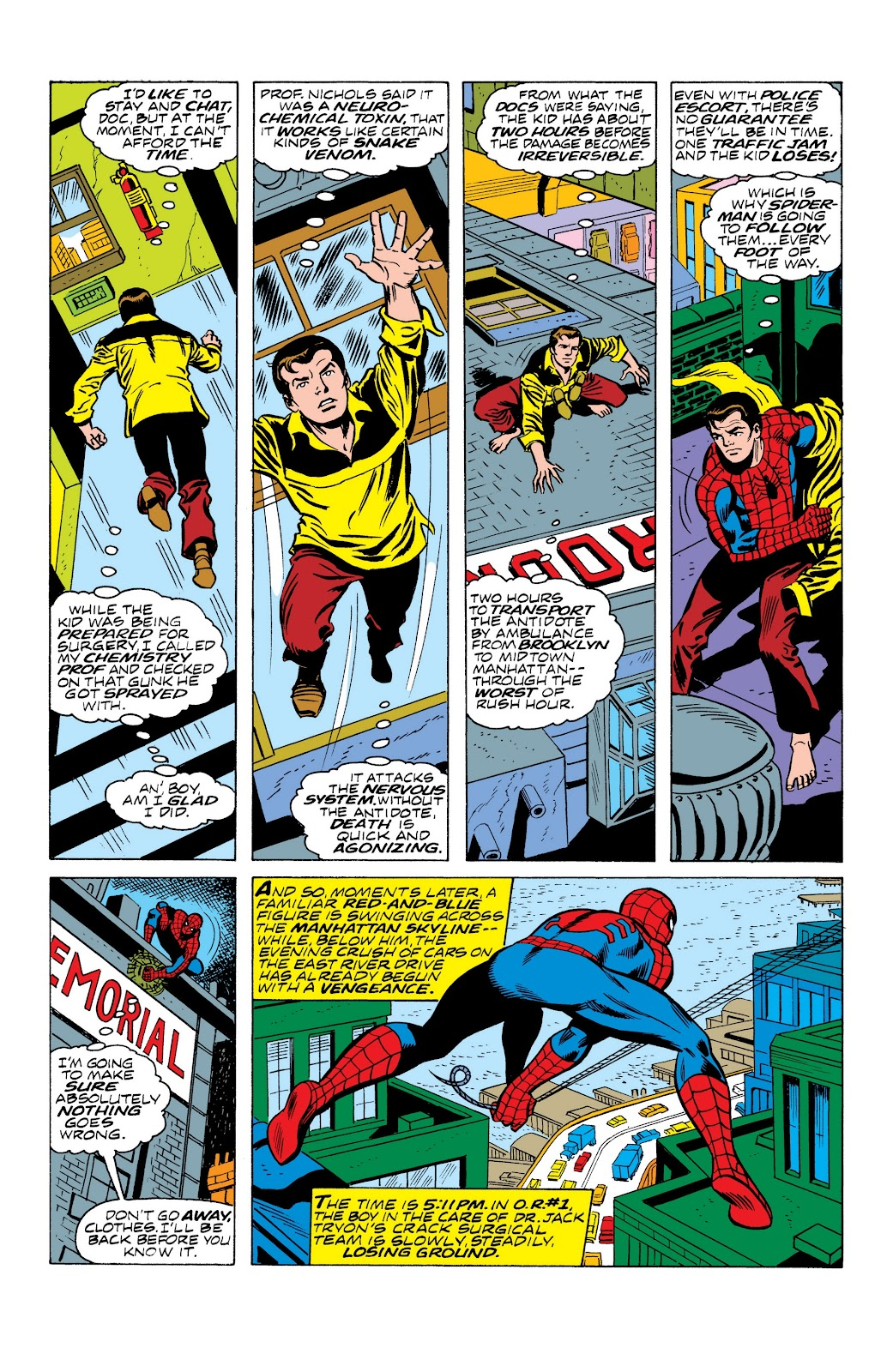 Read online Marvel Masterworks: The Spectacular Spider-Man comic -  Issue # TPB (Part 2) - 77