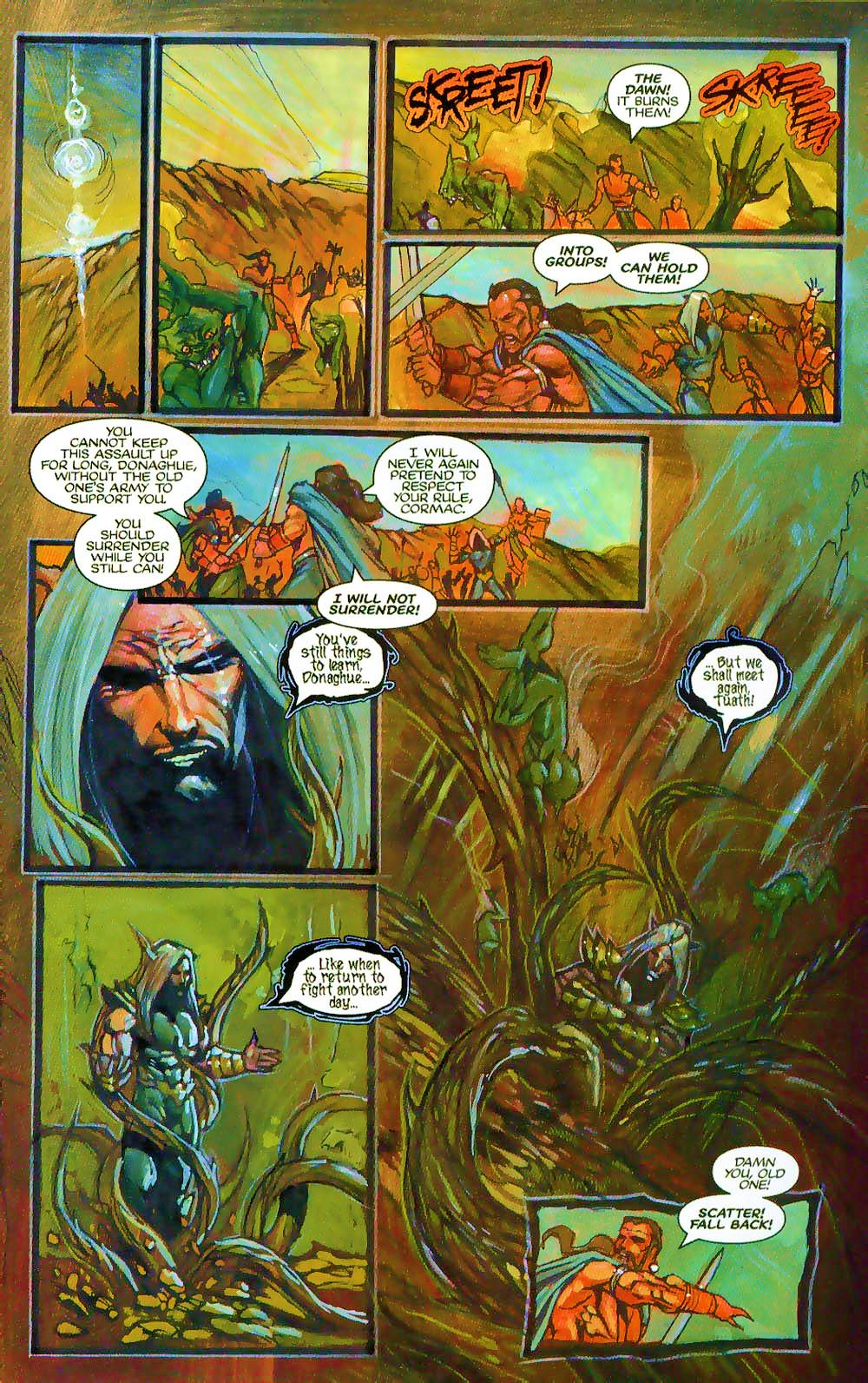 More Than Mortal: Sagas issue 3 - Page 23