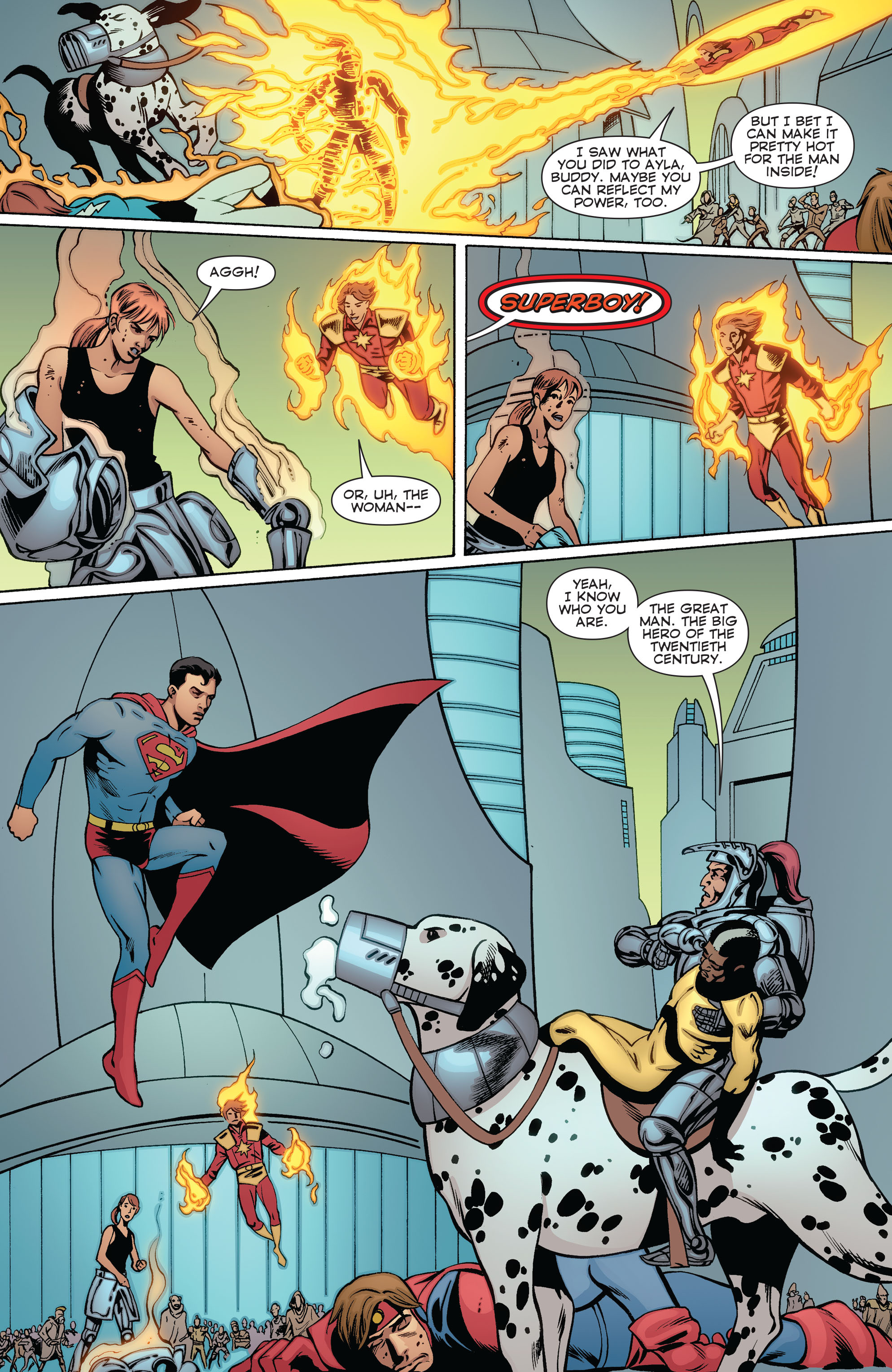 Read online Convergence Superboy and the Legion of Super-Heroes comic -  Issue #2 - 13