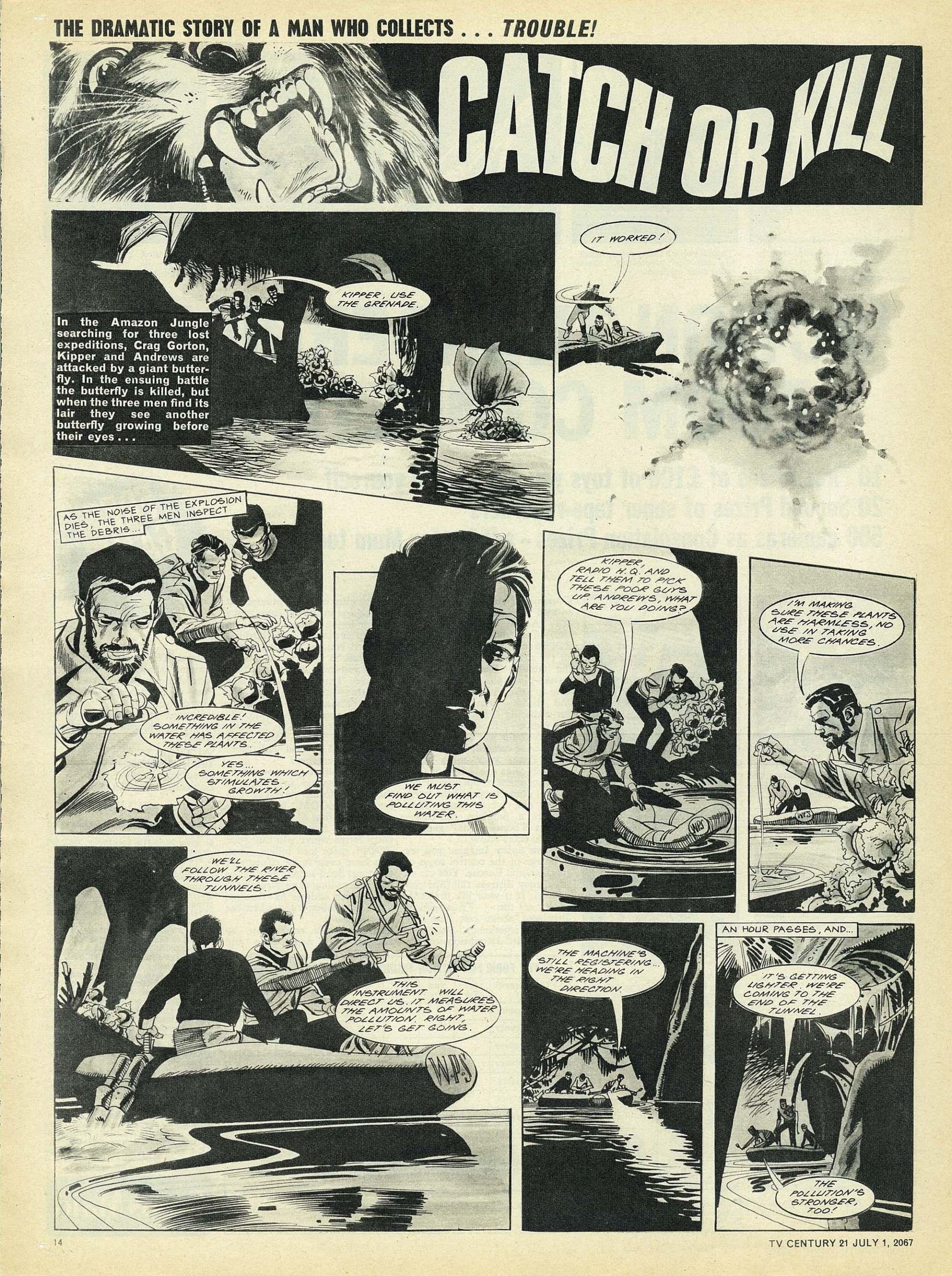 Read online TV Century 21 (TV 21) comic -  Issue #128 - 13