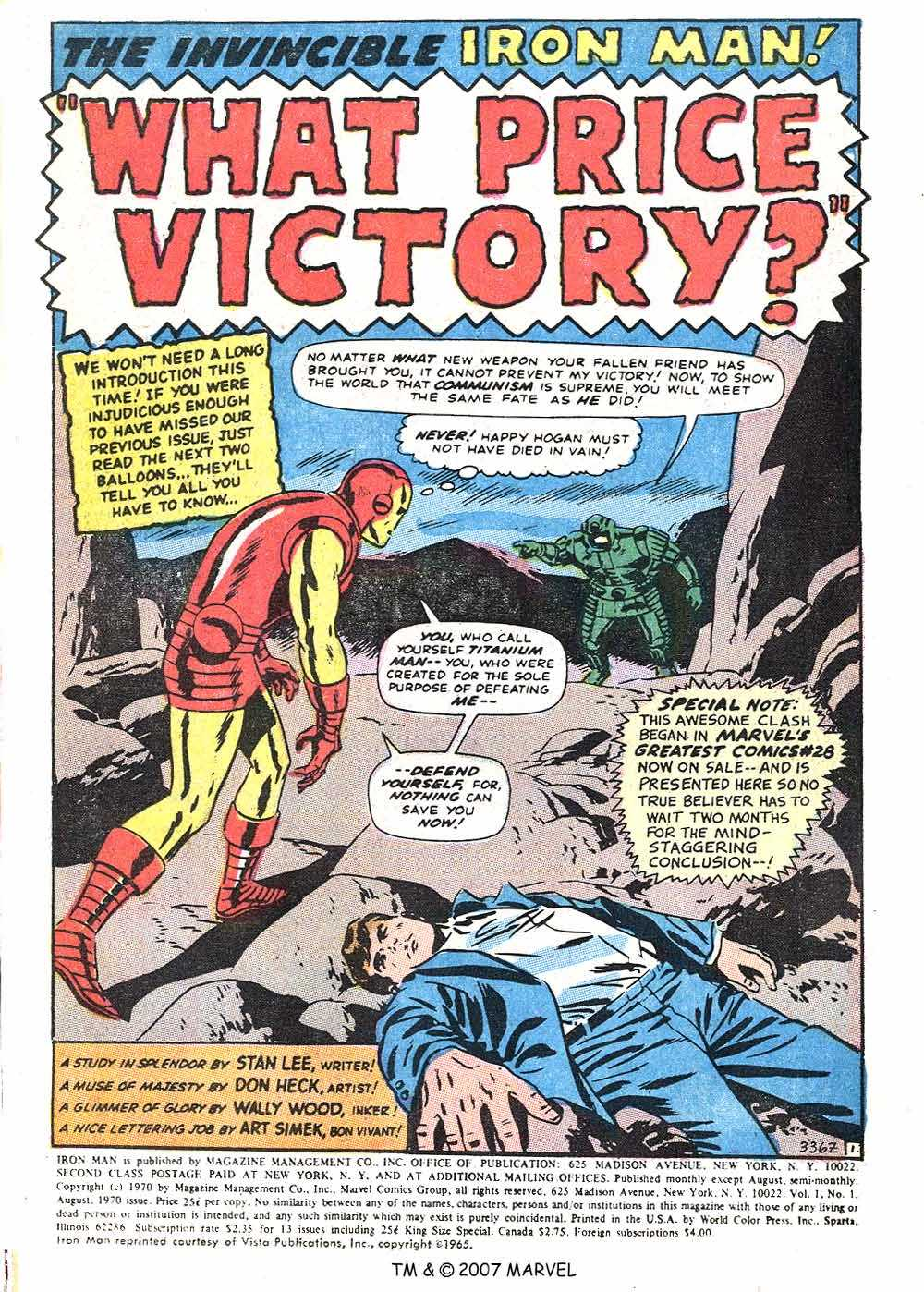 Iron Man Annual issue 1 - Page 3