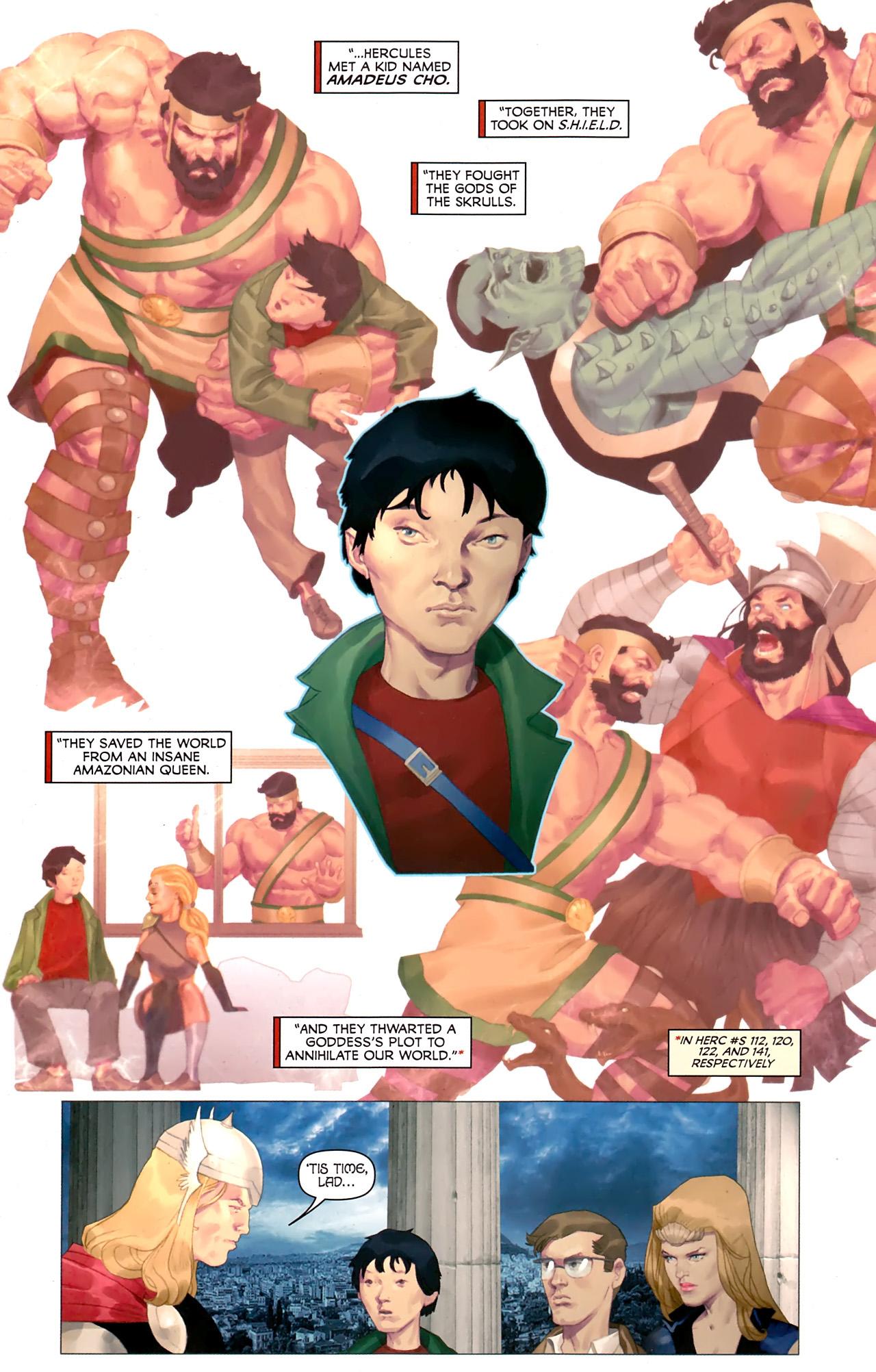 Read online Hercules: Fall of an Avenger comic -  Issue #1 - 19