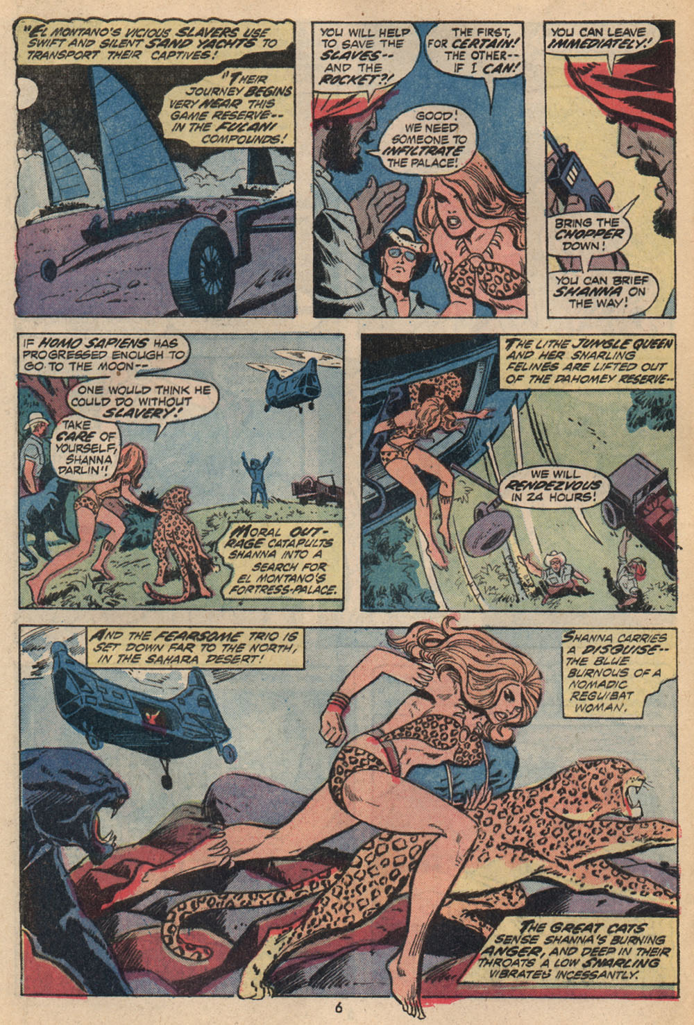 Read online Shanna, the She-Devil (1972) comic -  Issue #2 - 6