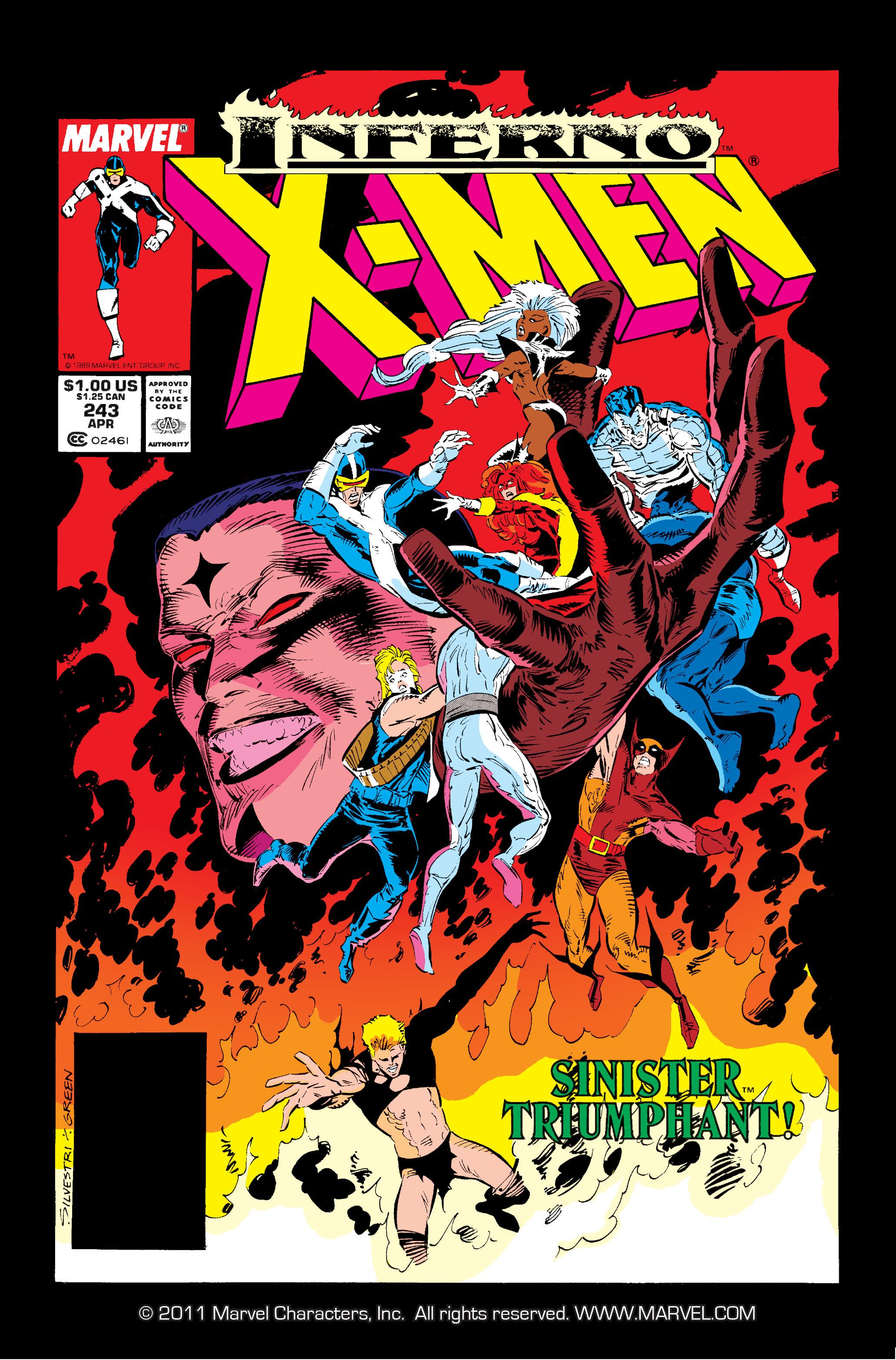 Read online Uncanny X-Men (1963) comic -  Issue #243 - 1
