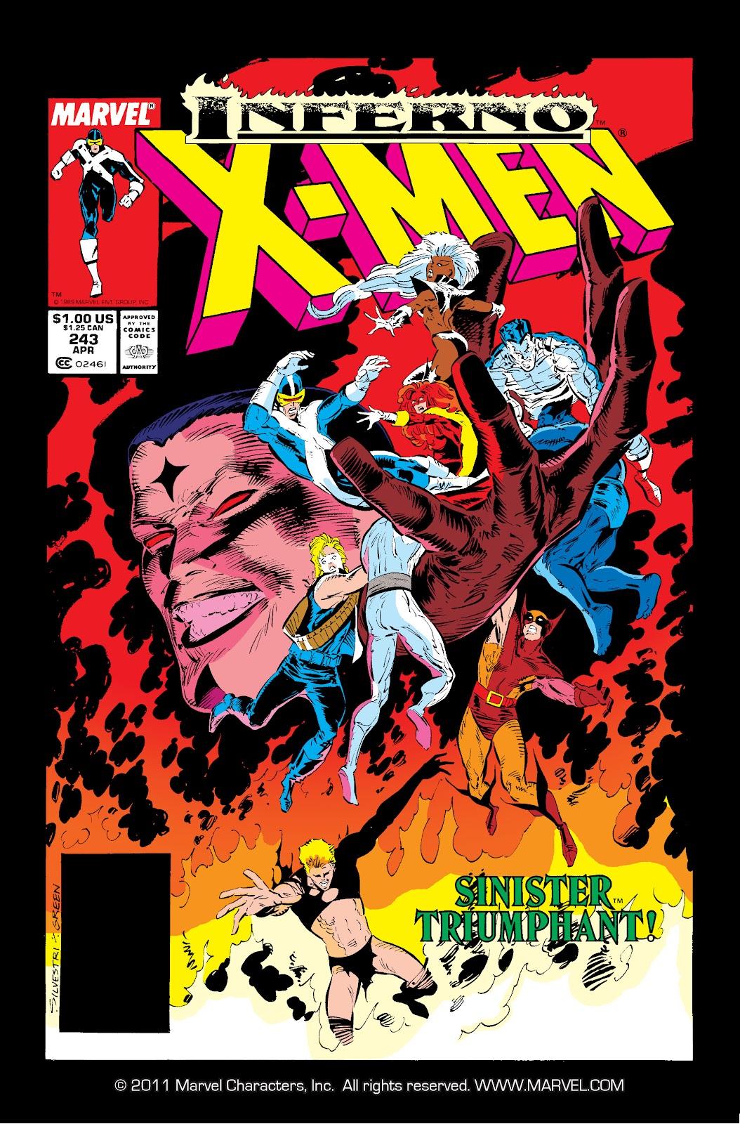 Uncanny X-Men (1963) issue 243 - Page 1