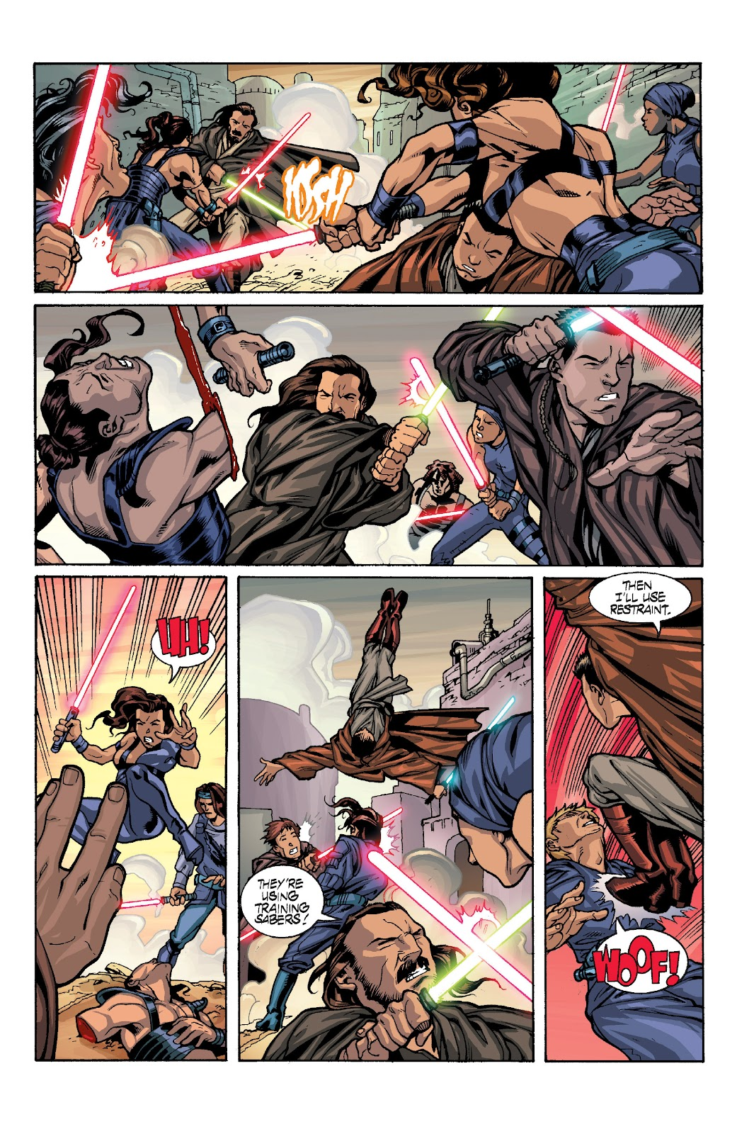 Read online Star Wars Legends: Rise of the Sith - Epic Collection comic -  Issue # TPB 1 (Part 4) - 13