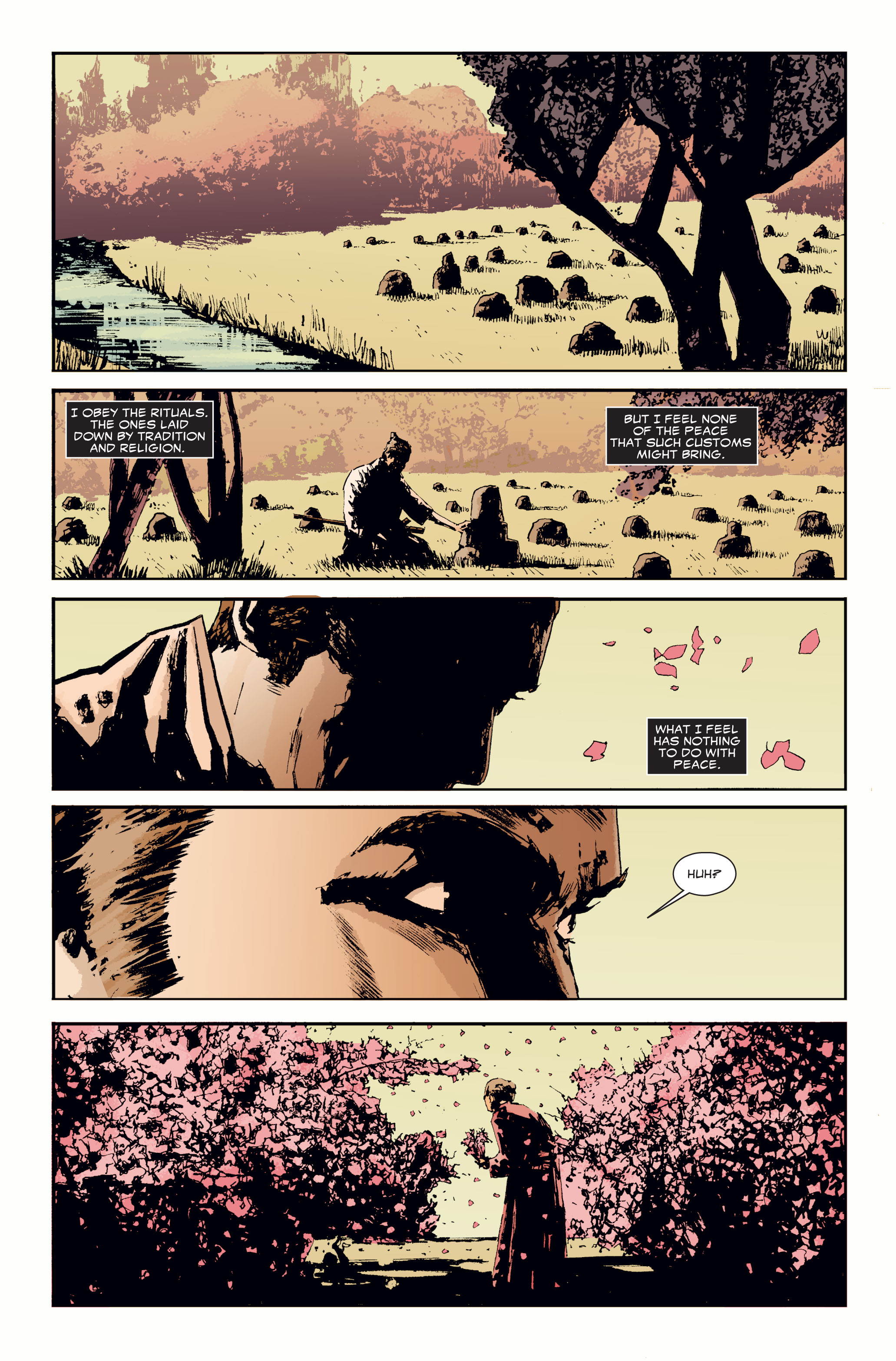 Read online 5 Ronin (2011) comic -  Issue #3 - 7