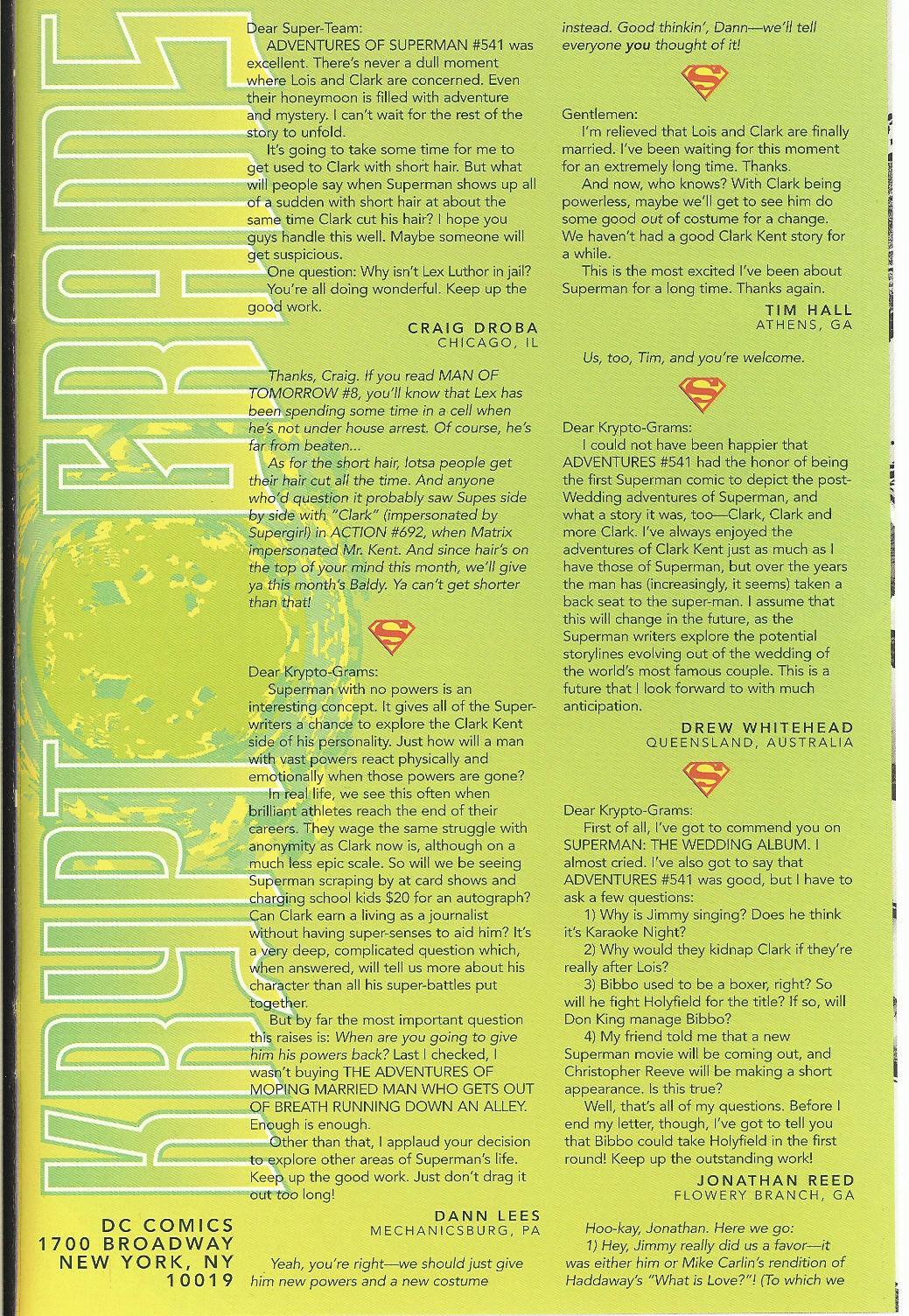 Read online Adventures of Superman (1987) comic -  Issue #546 - 24