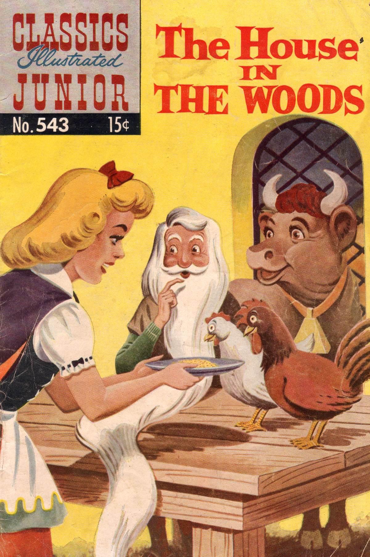 Classics Illustrated Junior 543 Page 1