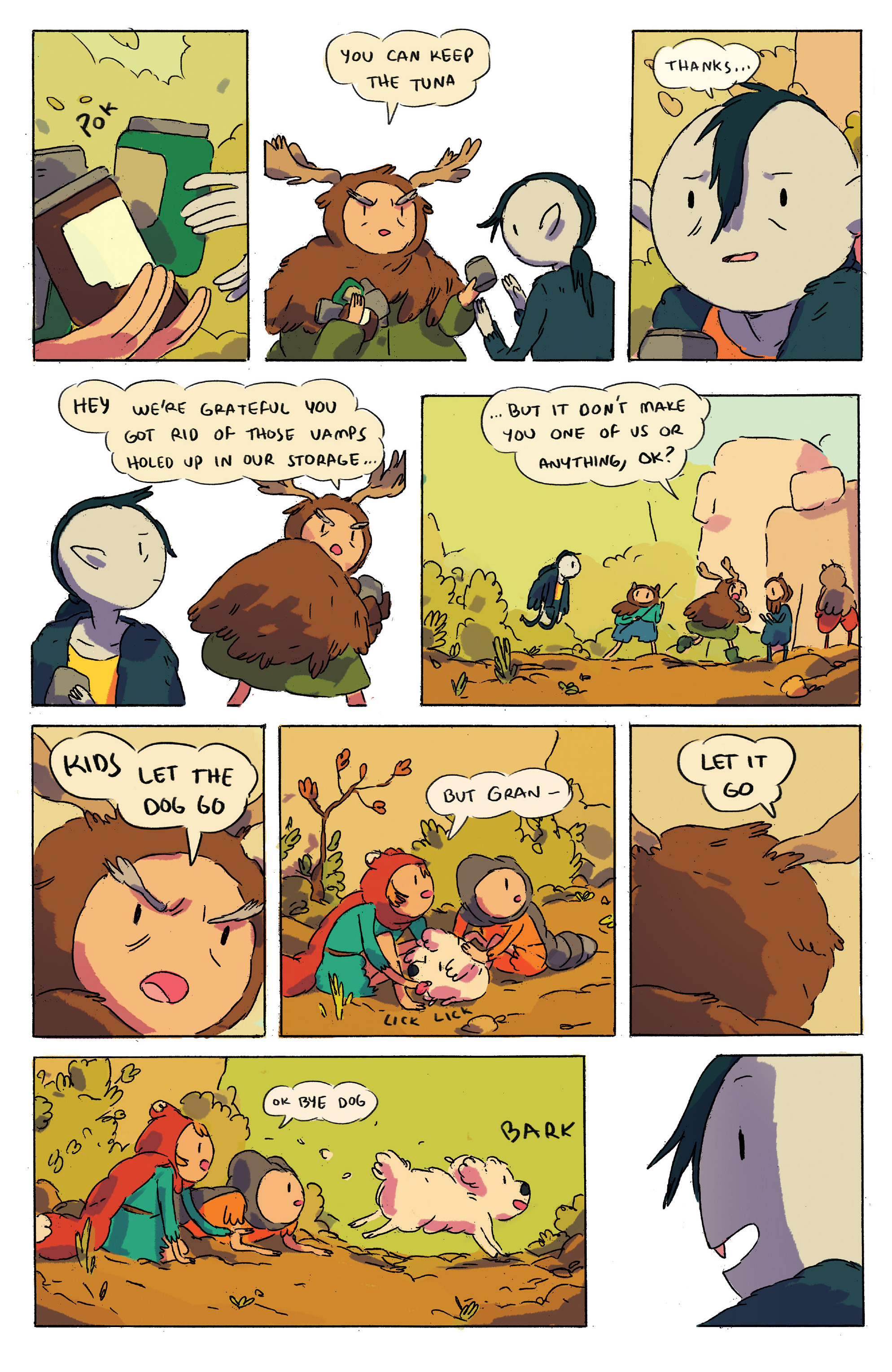 Read online Adventure Time comic -  Issue # _2015 Spoooktacular - 10