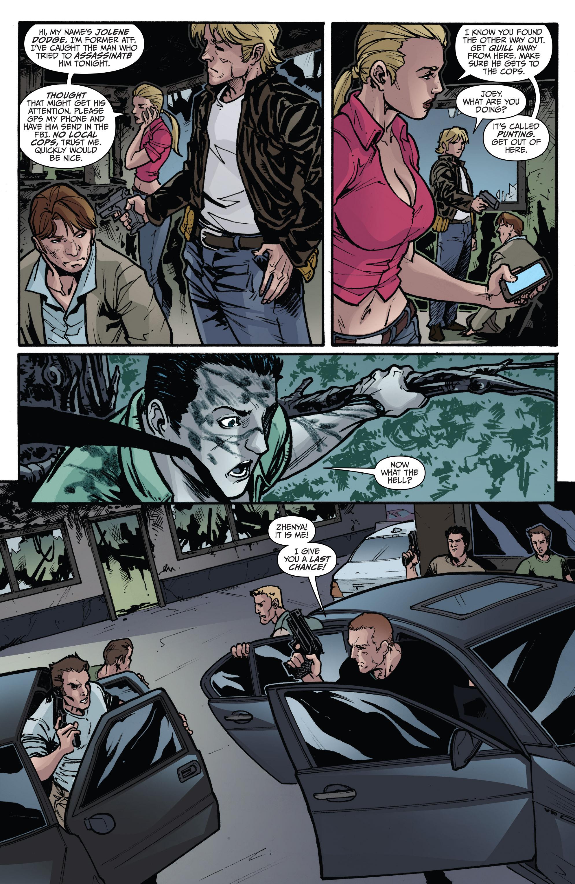 Read online 3 Guns comic -  Issue #6 - 17