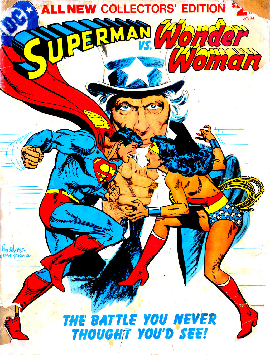 Superman vs. Wonder Woman issue Full - Page 1