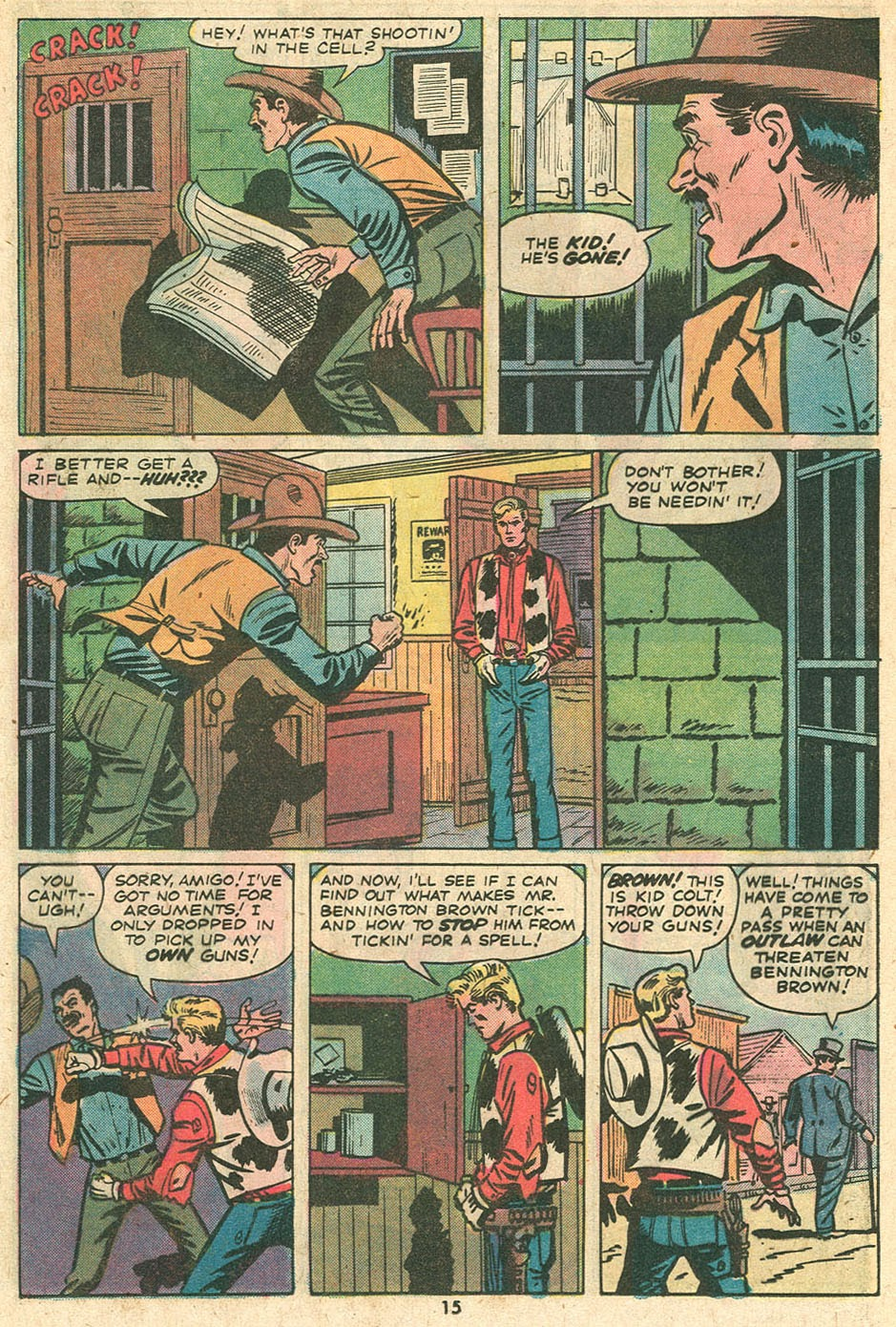Kid Colt Outlaw issue 186 - Page 18