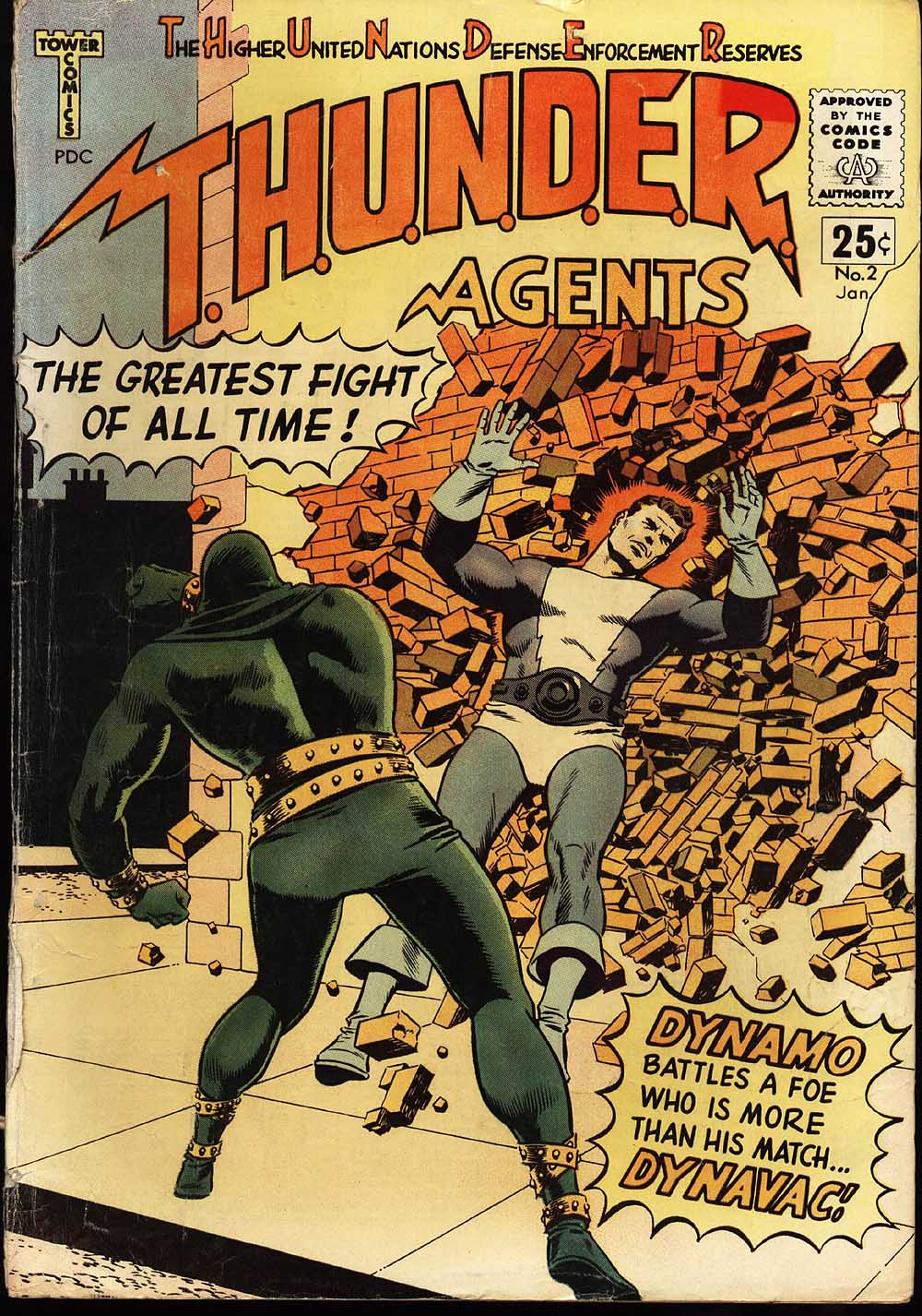 T.H.U.N.D.E.R. Agents (1965) issue 2 - Page 1