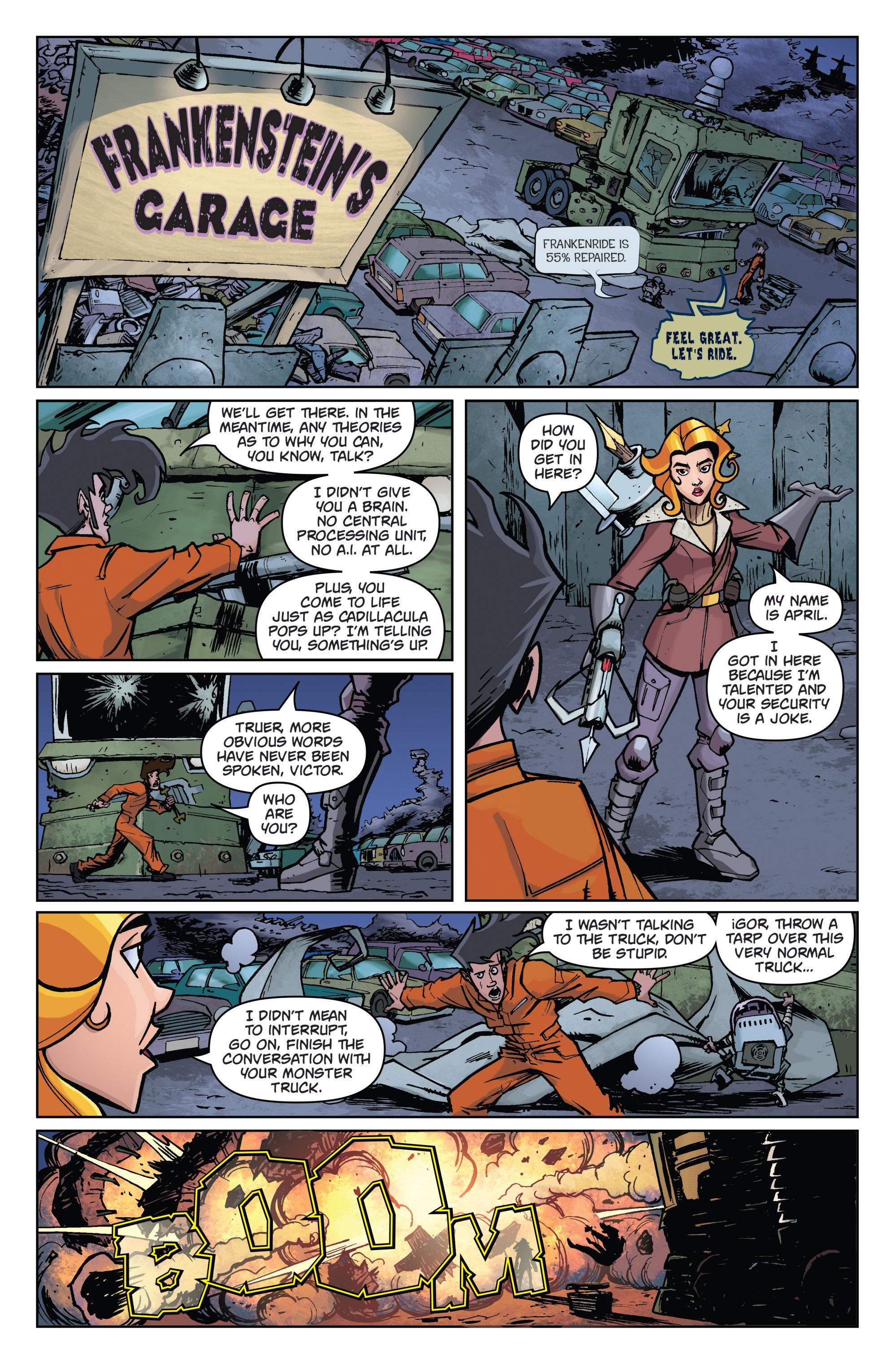 Read online Monster Motors comic -  Issue # Full - 43