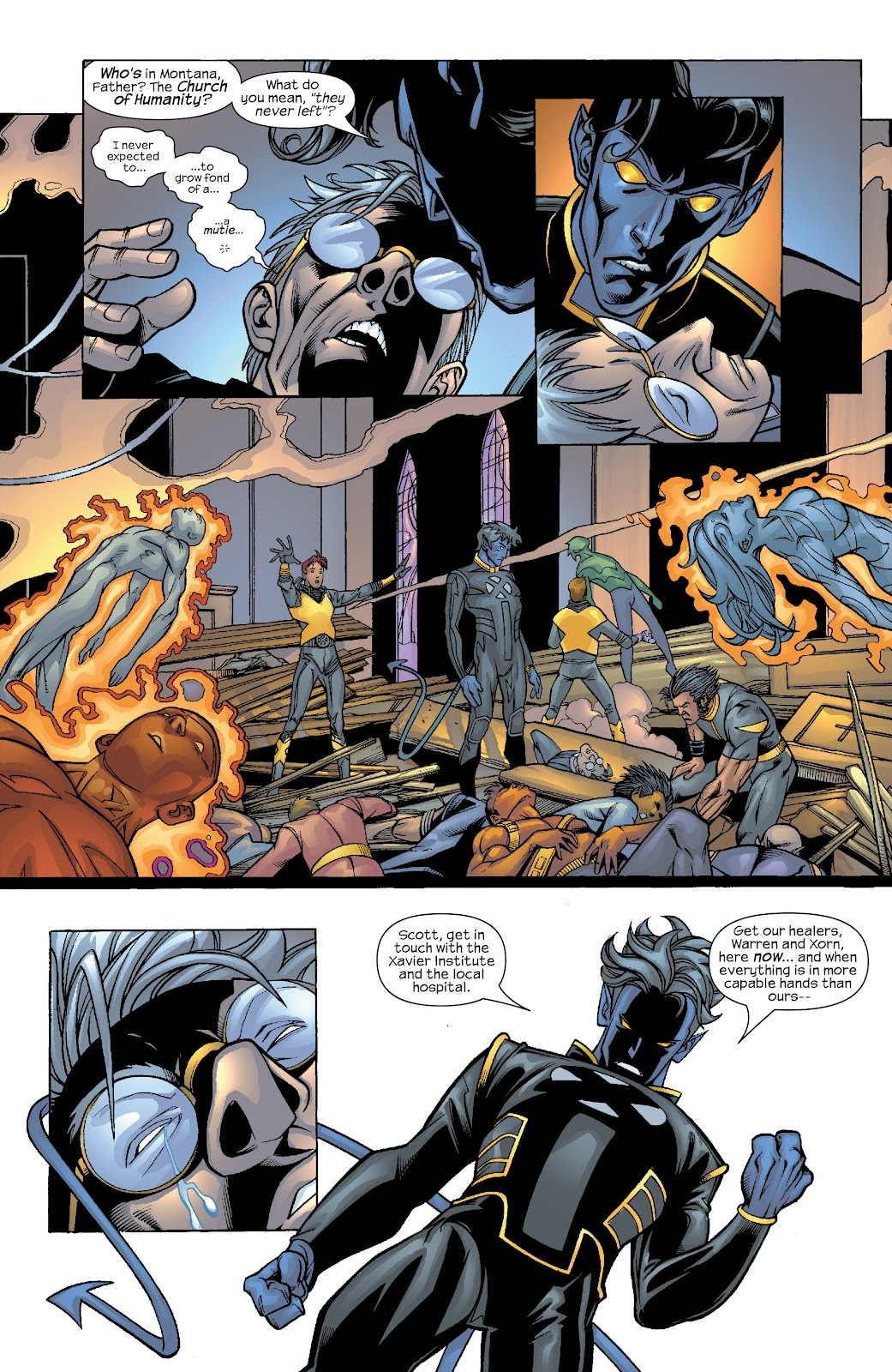 Read online X-Men: Unstoppable comic -  Issue # TPB (Part 4) - 98