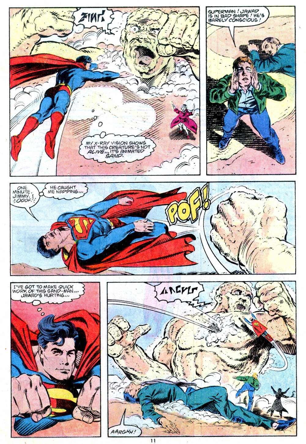 Read online Adventures of Superman (1987) comic -  Issue #443 - 12