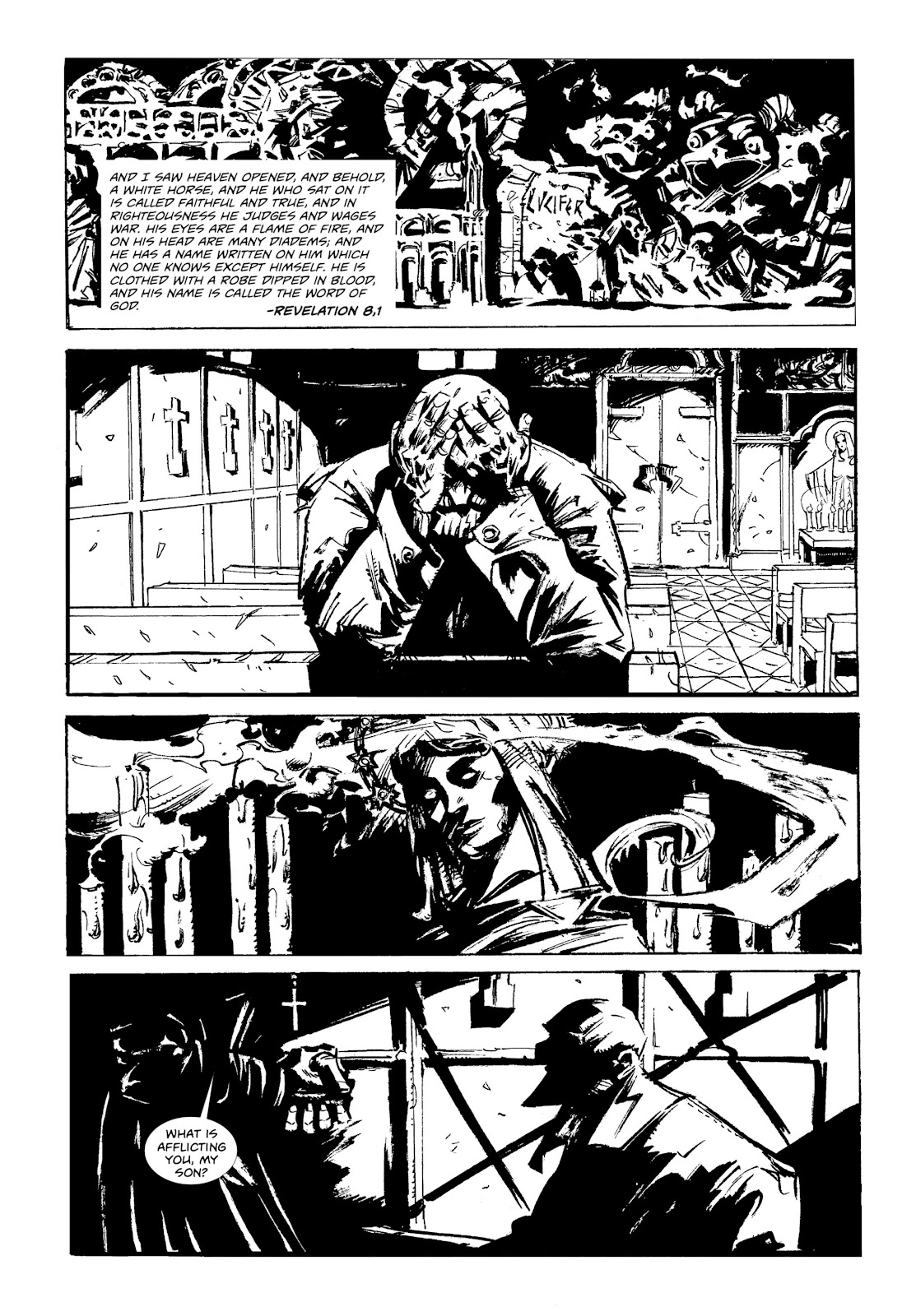 Read online Wrath of God comic -  Issue # _TPB - 3