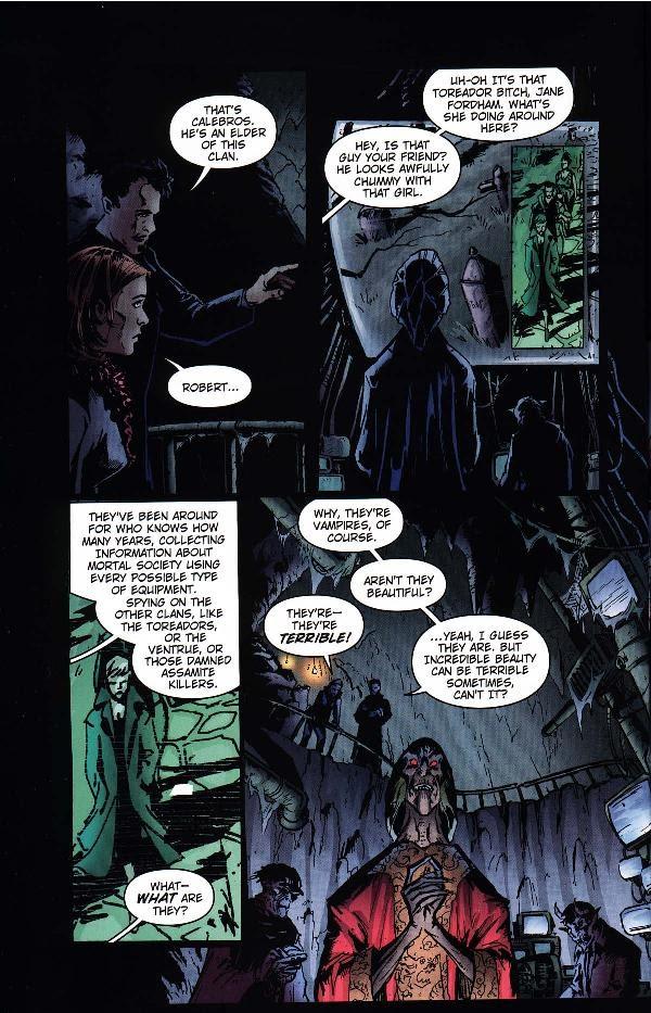 Read online Vampire the Masquerade comic -  Issue # Nosferatu - 28