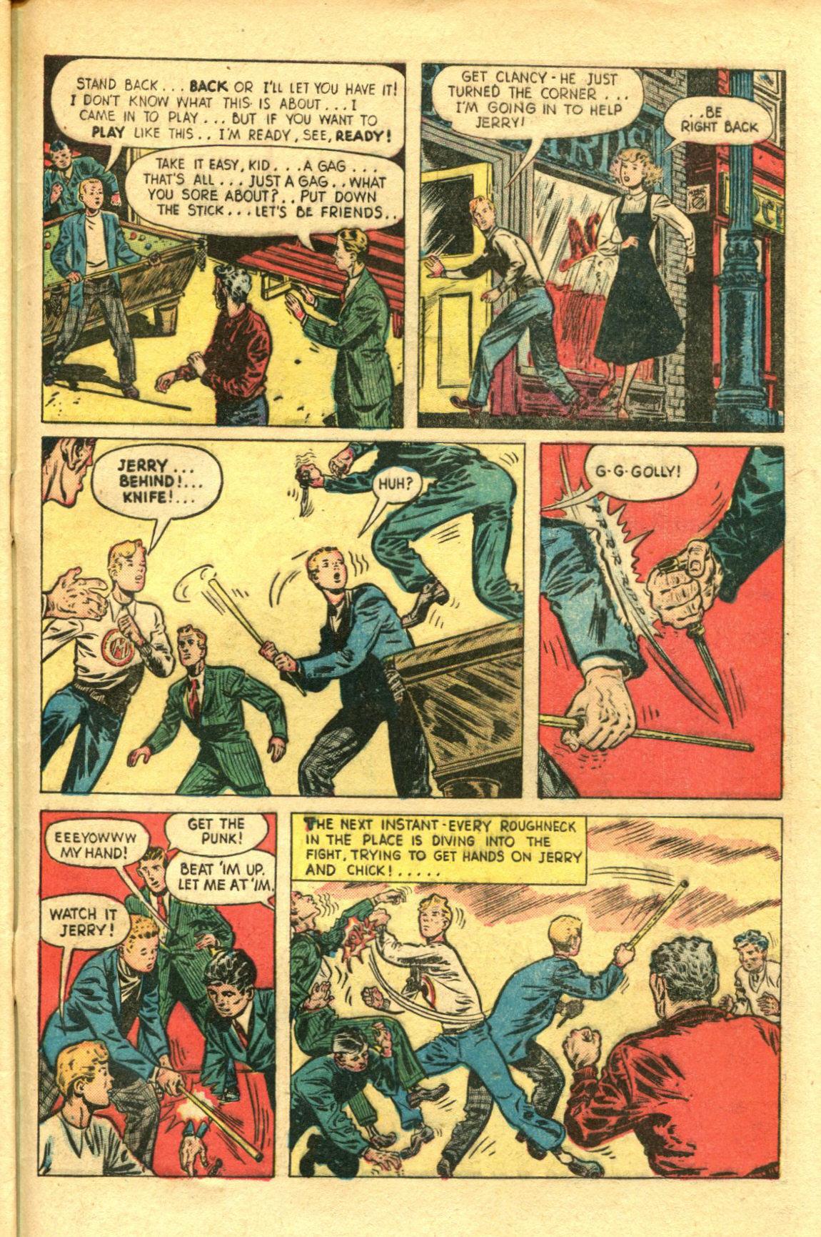 Read online Shadow Comics comic -  Issue #98 - 45