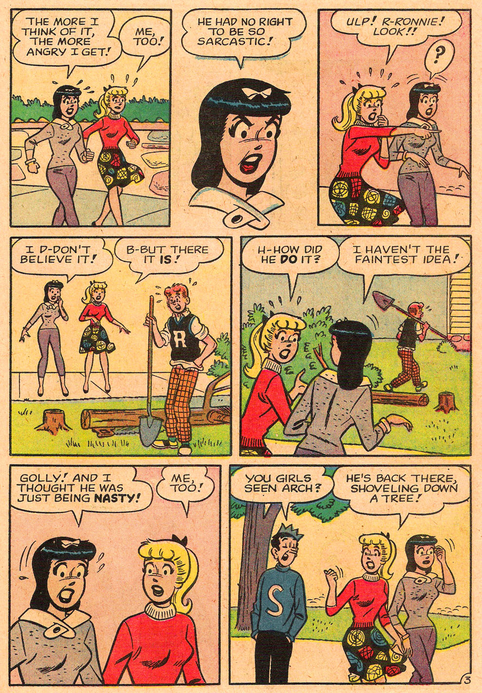 Read online Archie's Girls Betty and Veronica comic -  Issue #85 - 15