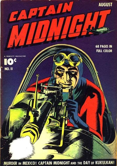 Captain Midnight (1942) issue 11 - Page 1