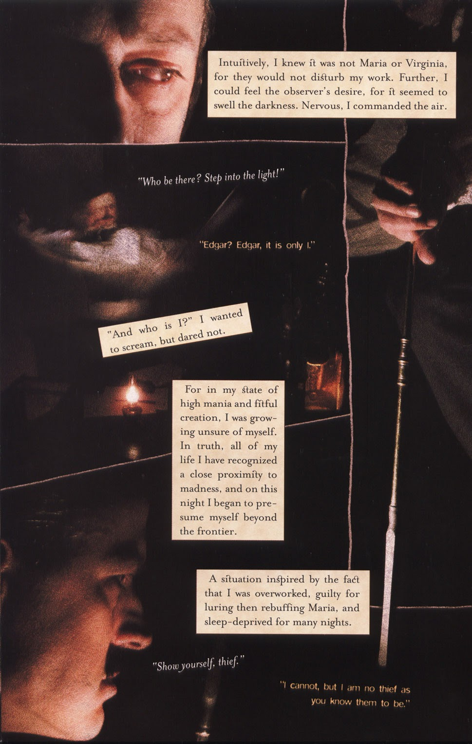 Read online In the Shadow of Edgar Allan Poe comic -  Issue # TPB - 14
