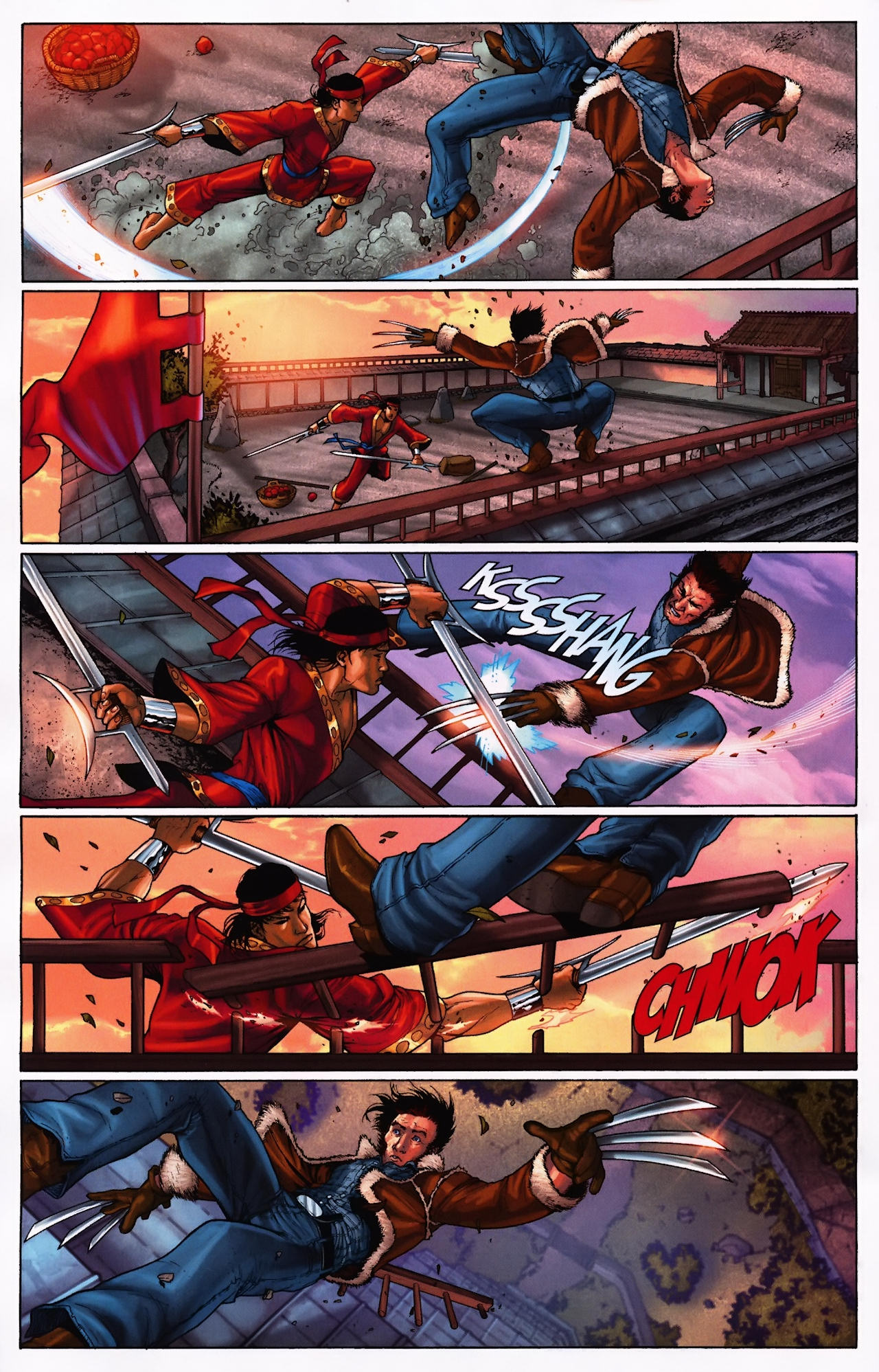 Read online Wolverine: First Class comic -  Issue #9 - 10