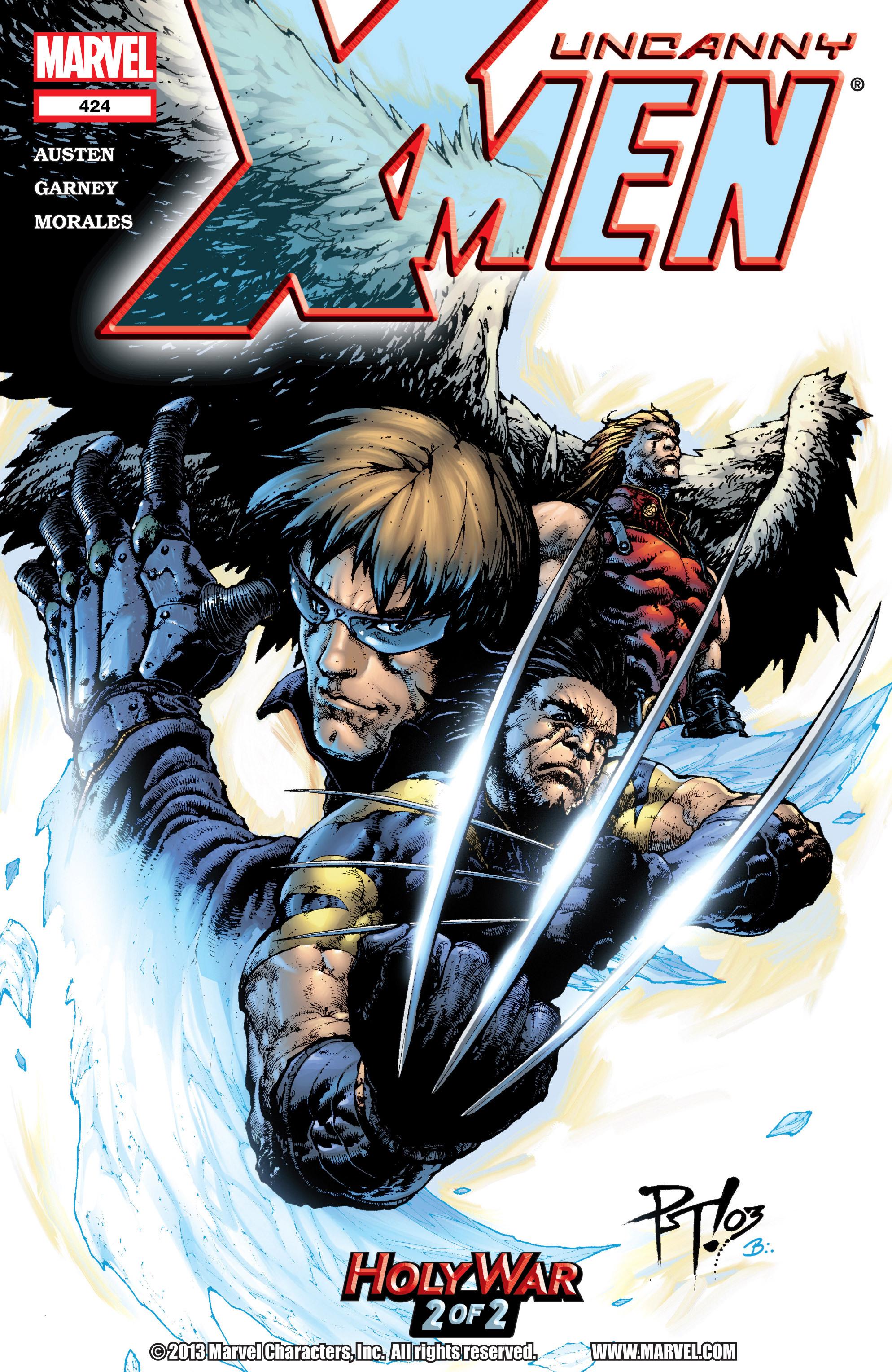 Read online Uncanny X-Men (1963) comic -  Issue #424 - 1