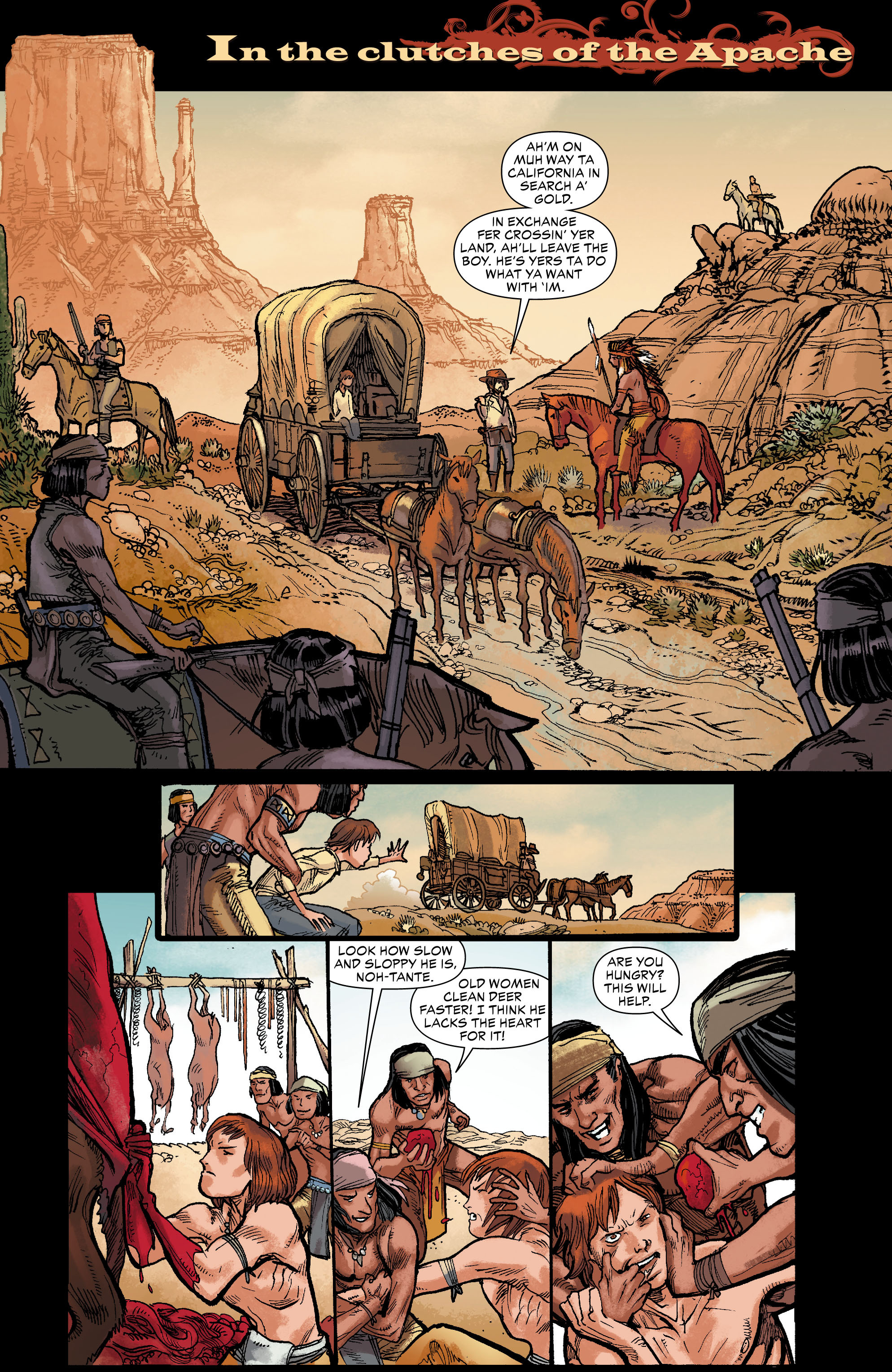 Read online All-Star Western (2011) comic -  Issue #0 - 13