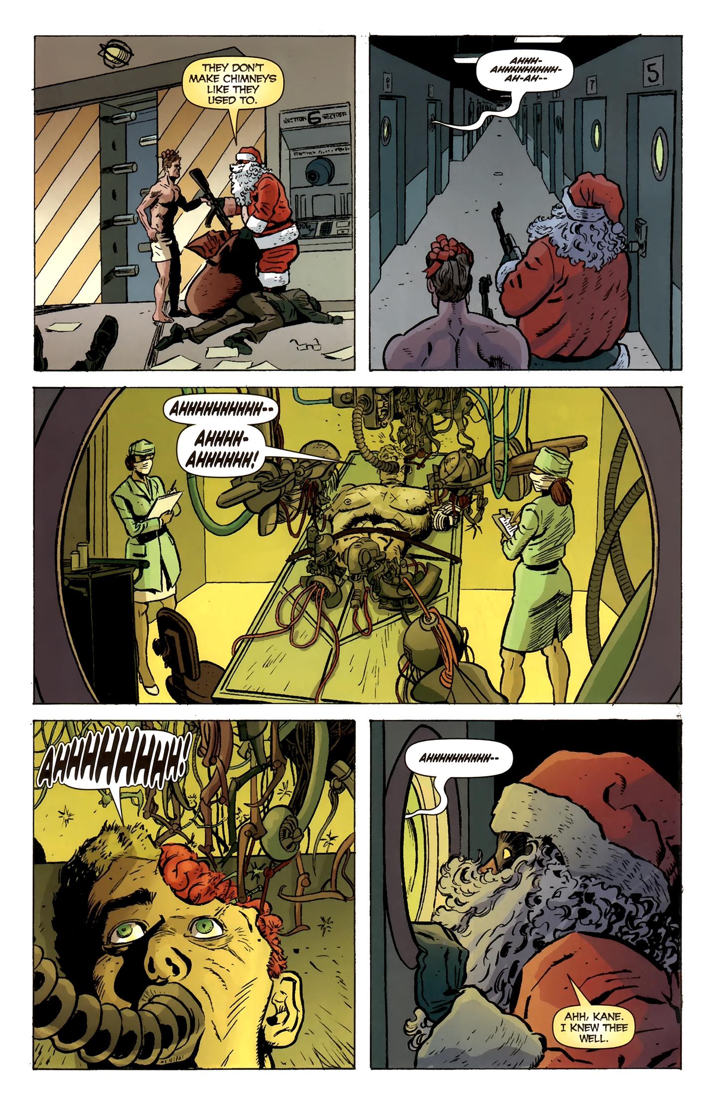 Read online Deadpool MAX X-Mas Special comic -  Issue # Full - 8