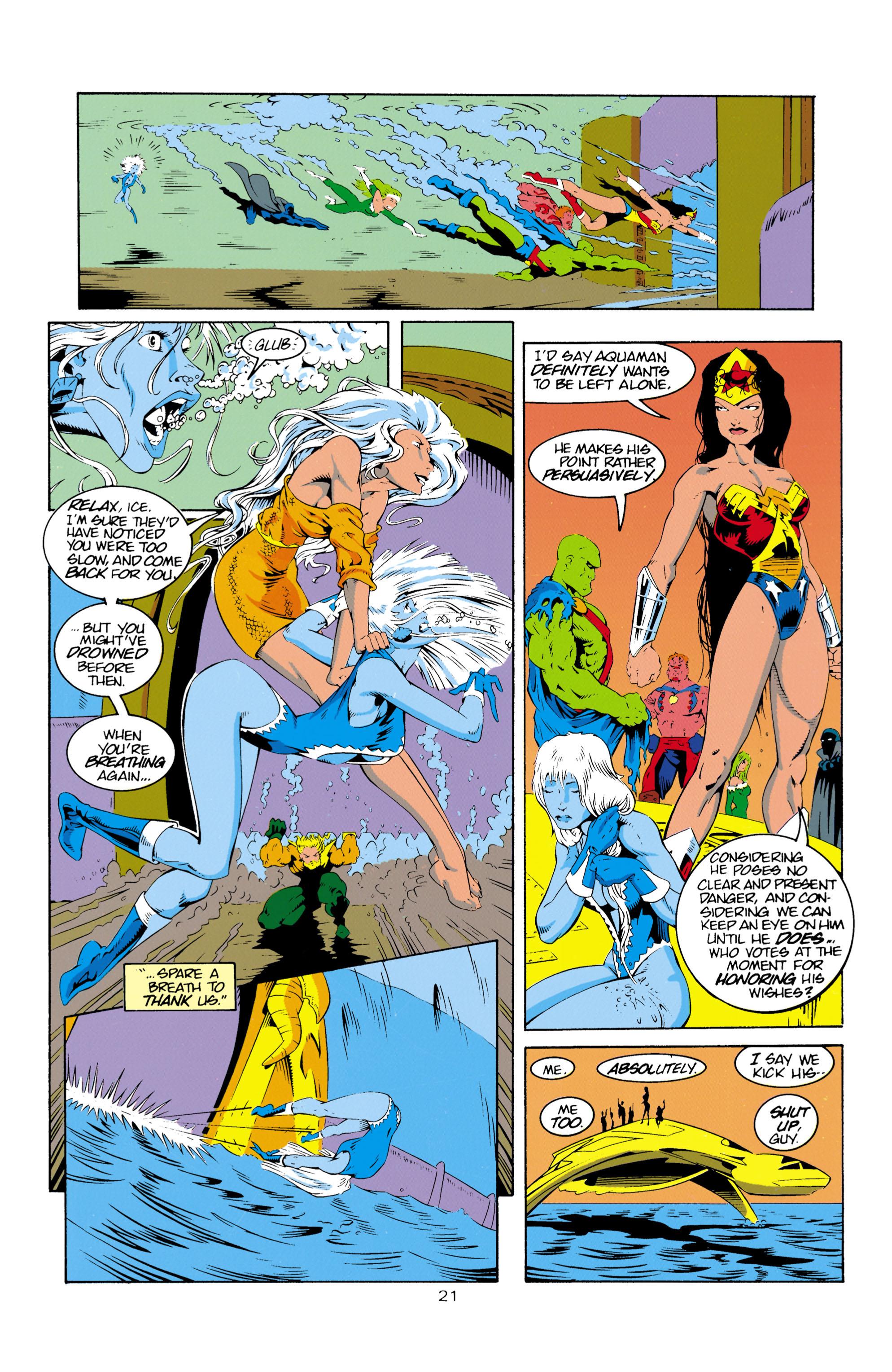 Read online Aquaman (1994) comic -  Issue #16 - 22
