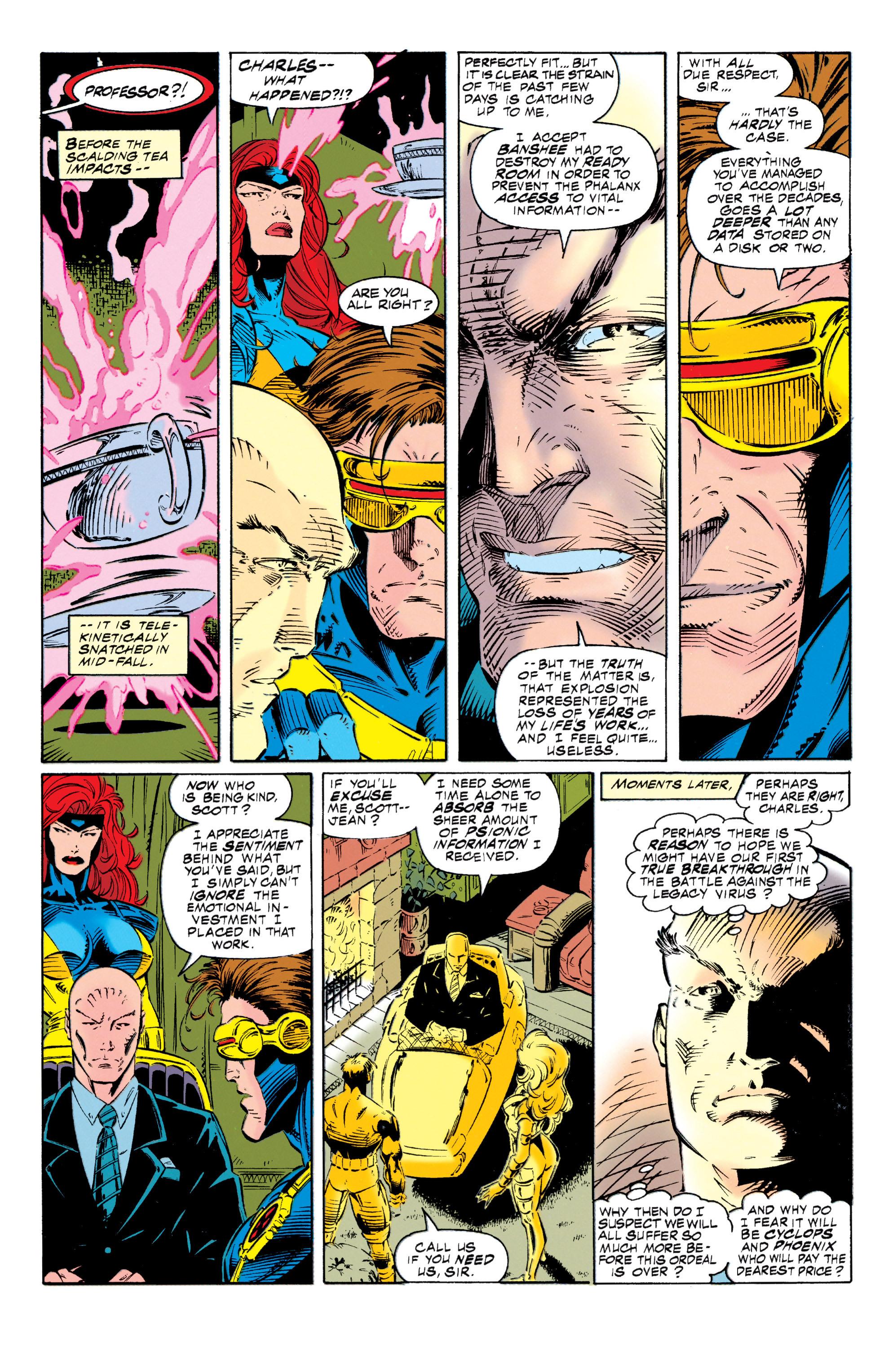 Read online Uncanny X-Men (1963) comic -  Issue #318 - 7