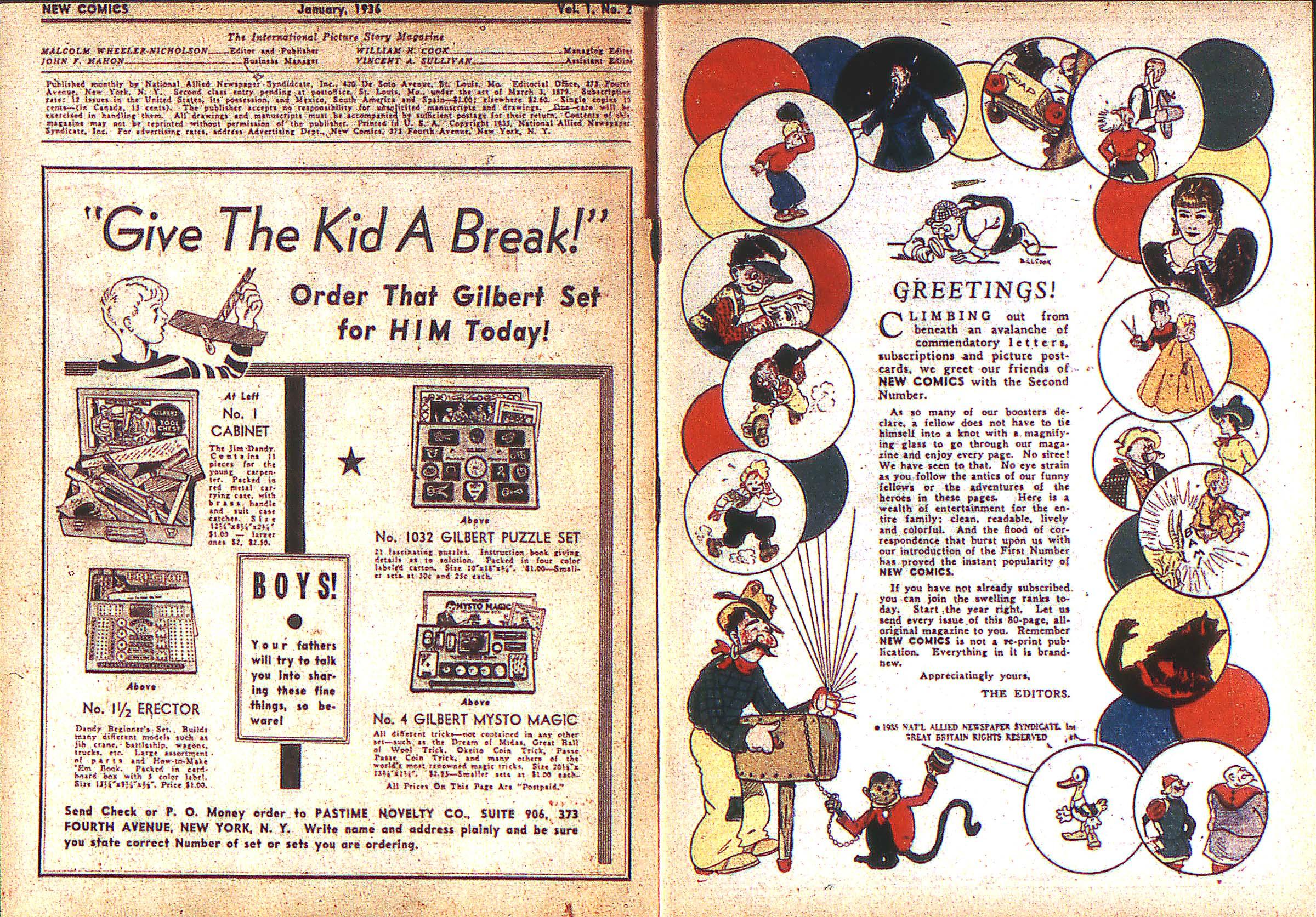 Read online Adventure Comics (1938) comic -  Issue #2 - 2