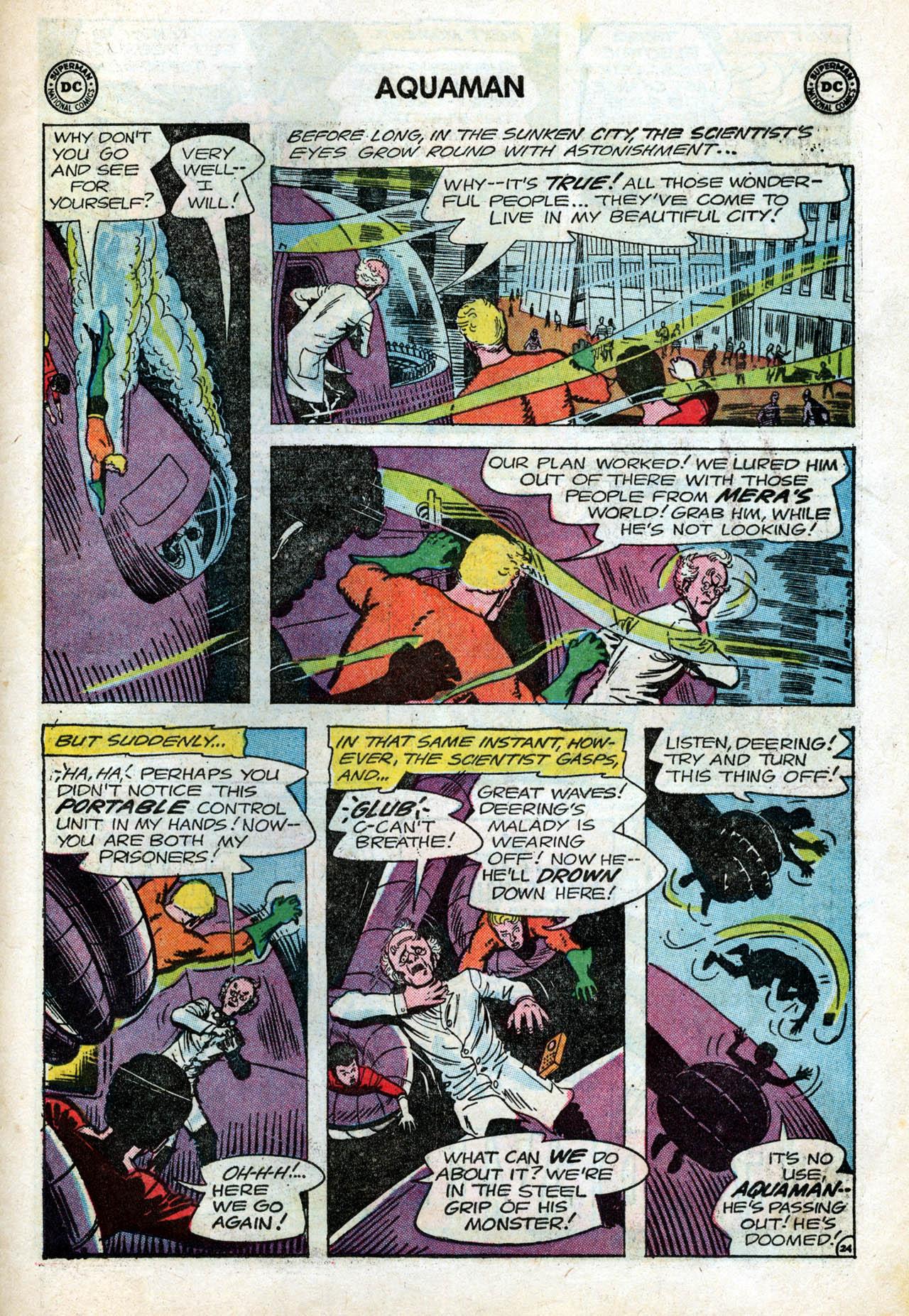 Read online Aquaman (1962) comic -  Issue #15 - 31