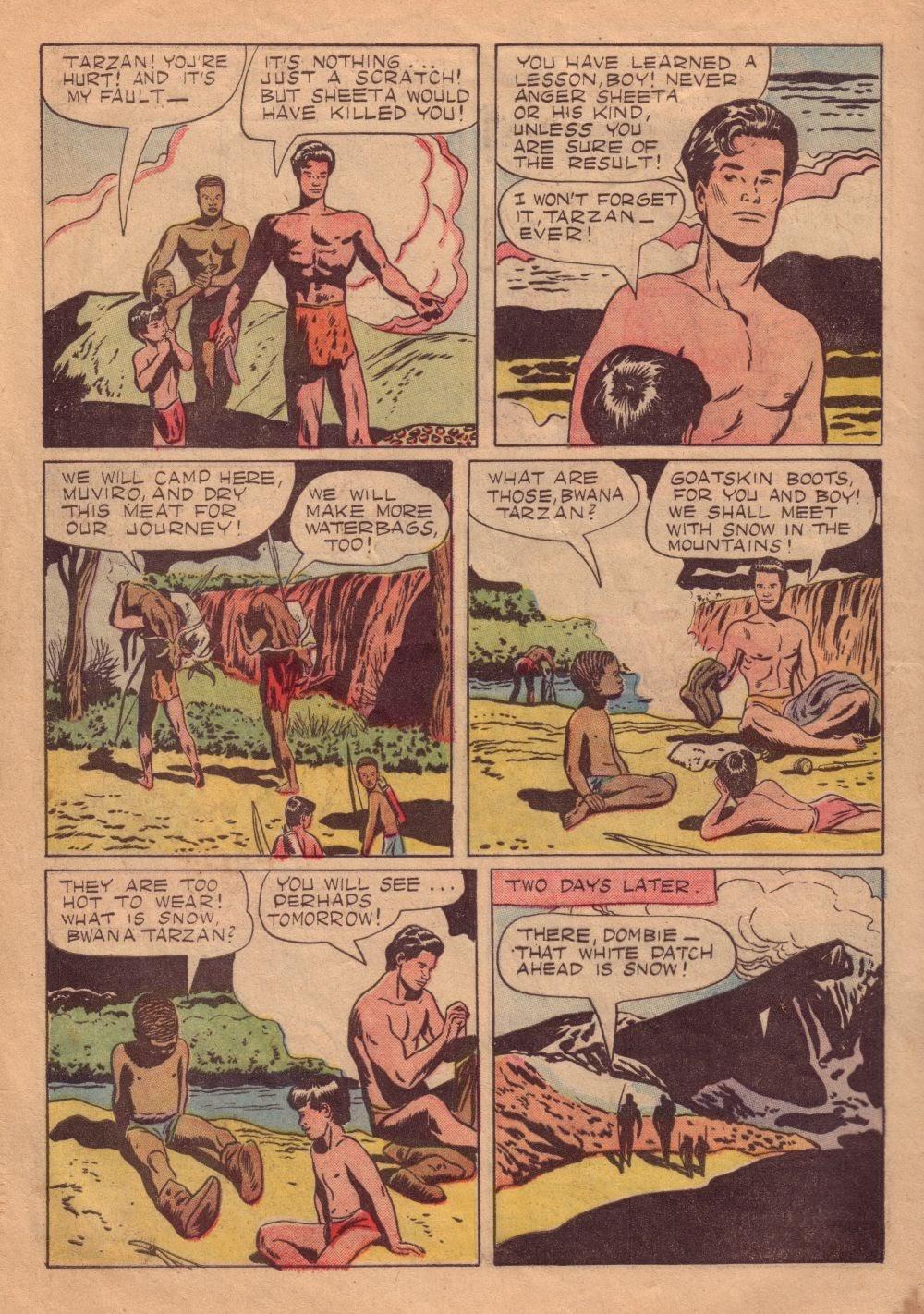 Tarzan (1948) issue 8 - Page 6