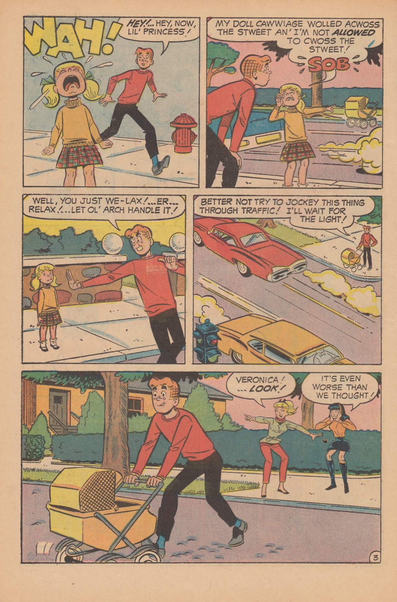 Read online Archie (1960) comic -  Issue #188 - 22