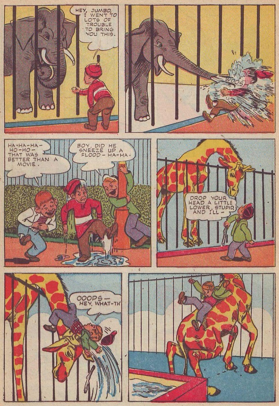 Read online Animal Comics comic -  Issue #20 - 37