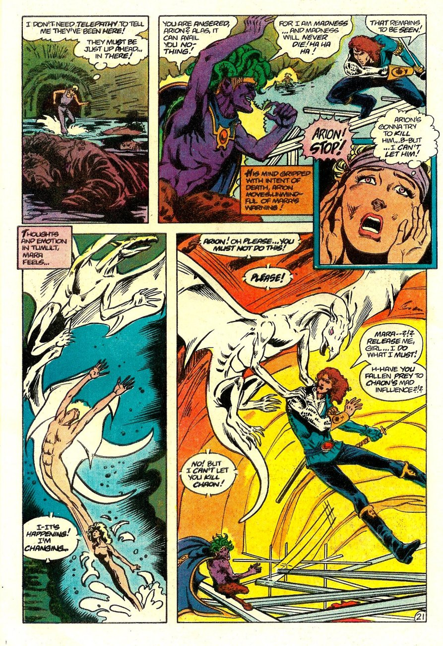 Read online Arion, Lord of Atlantis comic -  Issue #15 - 22