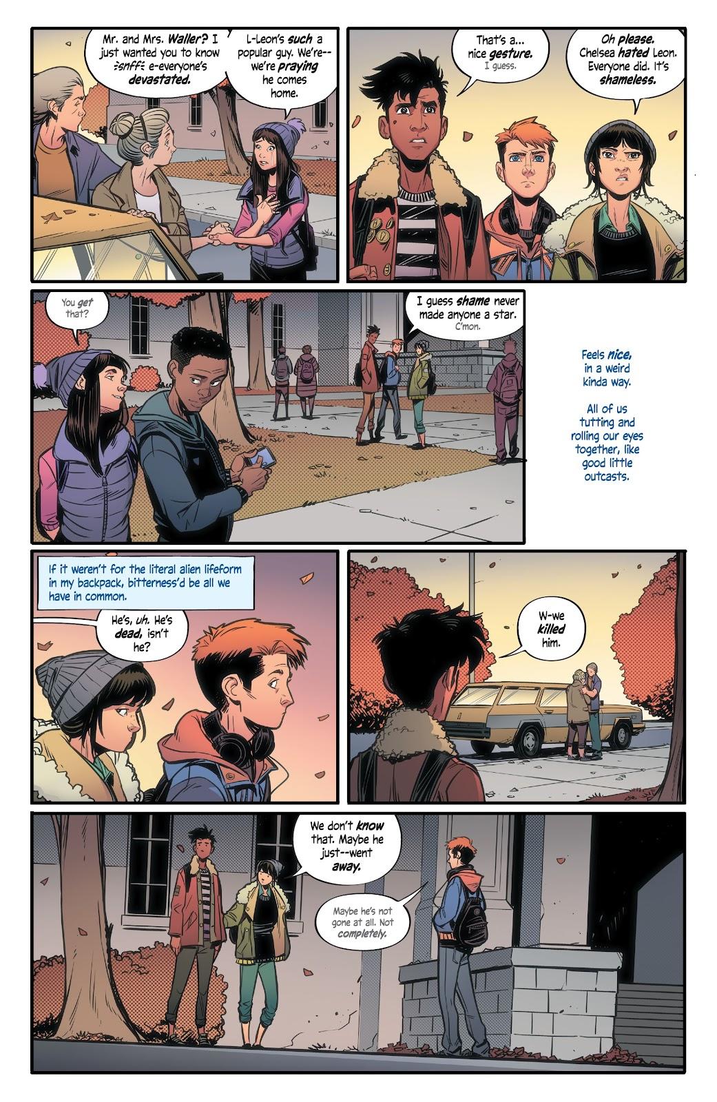 Read online Alienated comic -  Issue #2 - 9