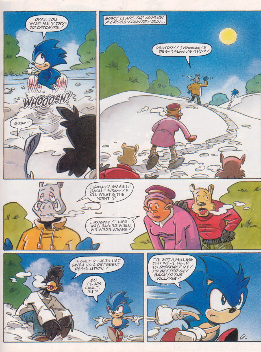 Read online Sonic the Comic comic -  Issue #120 - 7